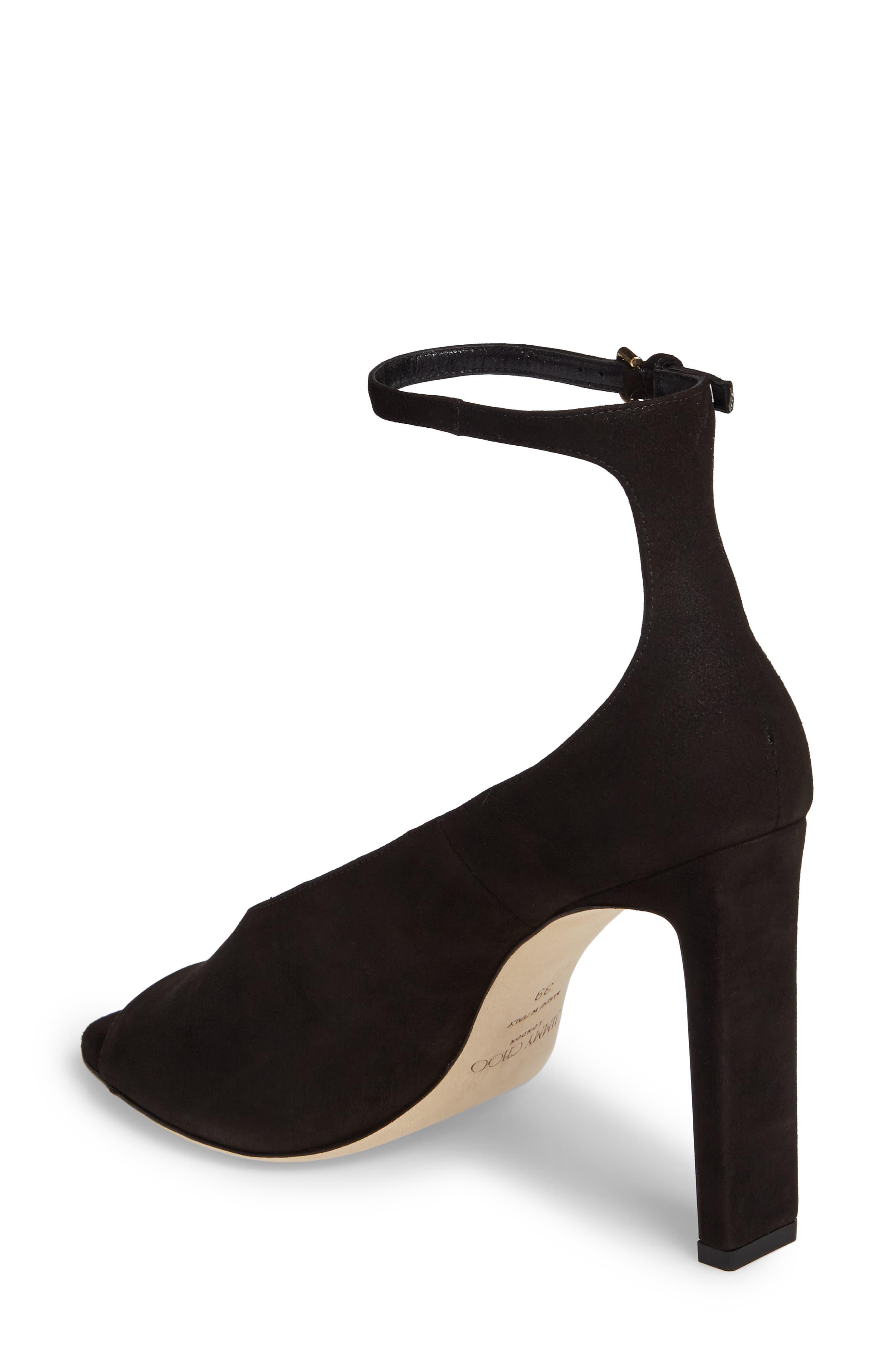 Theresa Ankle Strap Sandal,                             Alternate thumbnail 2, color,                             001