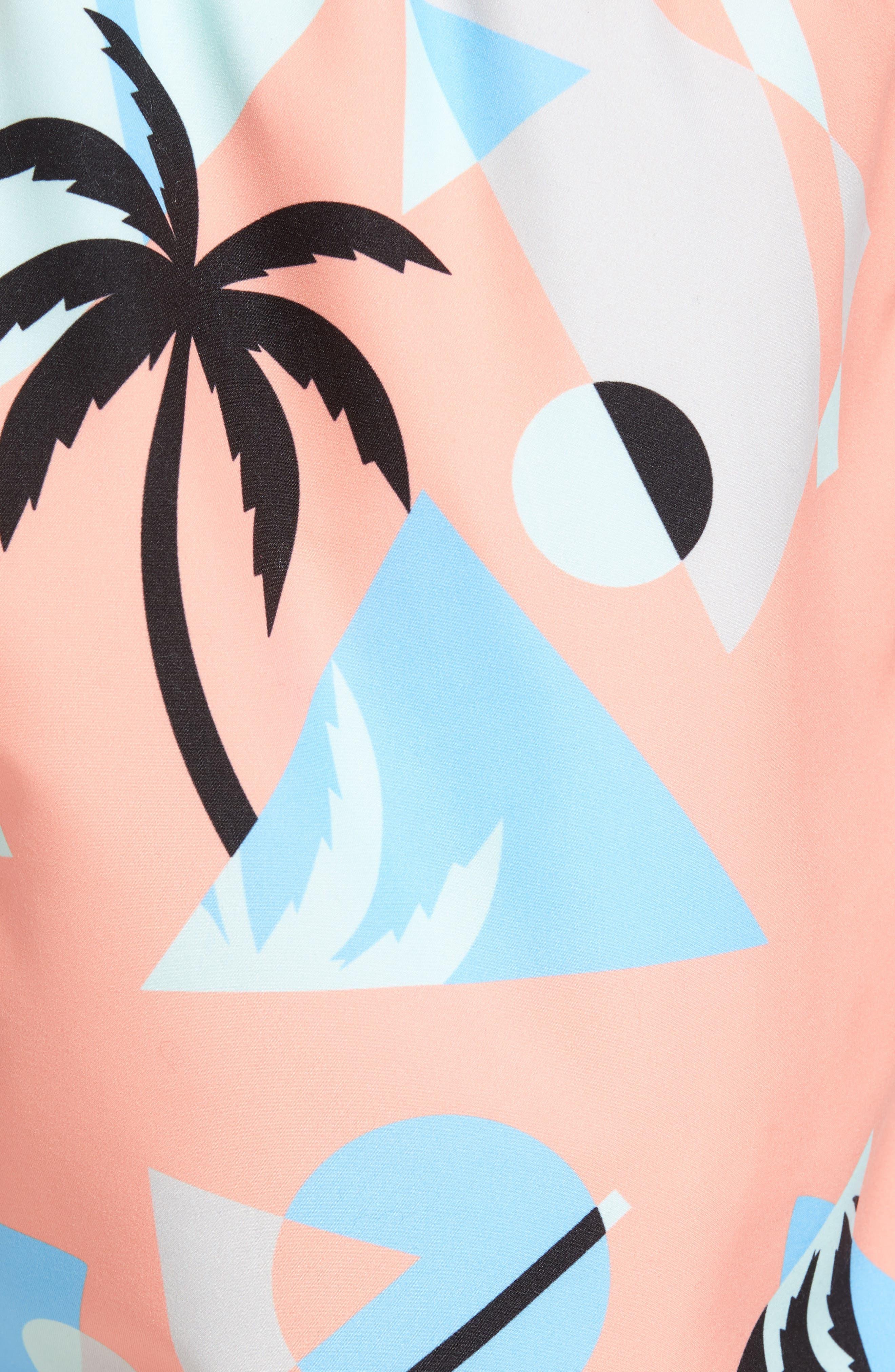 Overlay Swim Trunks,                             Alternate thumbnail 5, color,                             800
