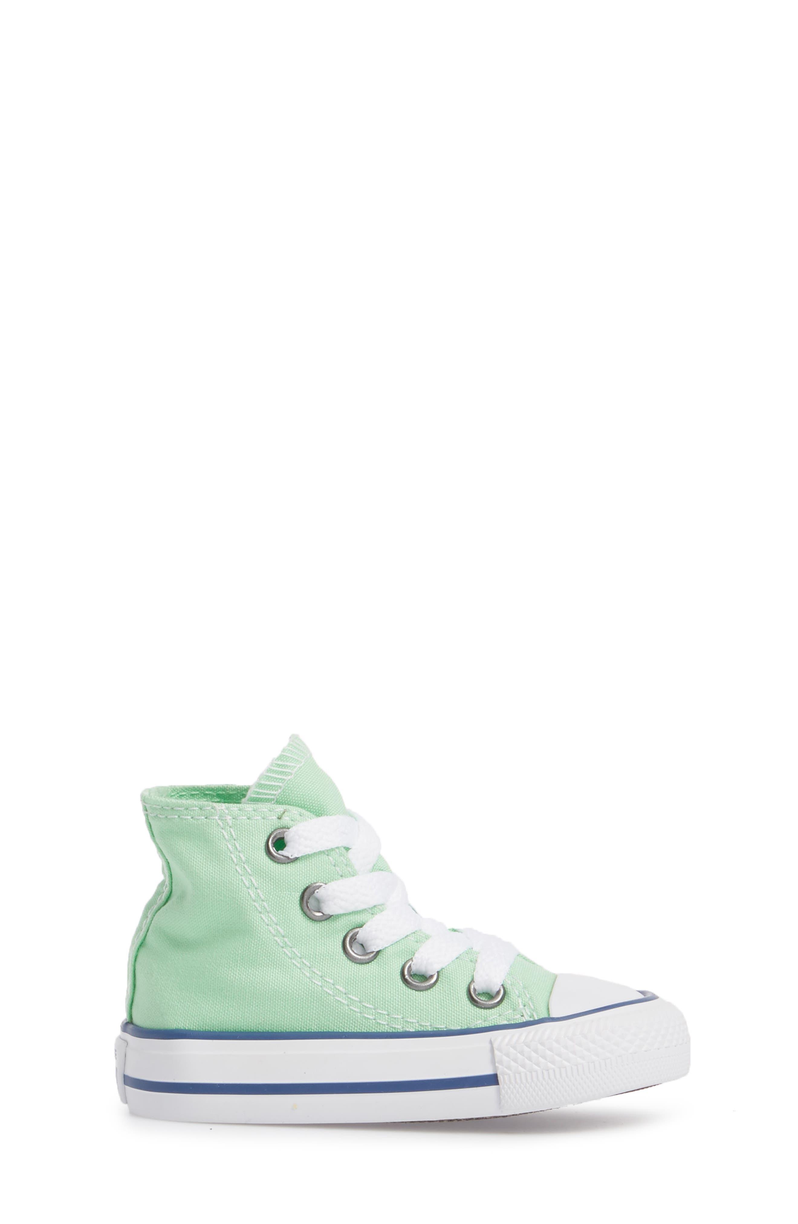 Chuck Taylor<sup>®</sup> All Star<sup>®</sup> Seasonal High Top Sneaker,                             Alternate thumbnail 3, color,                             336