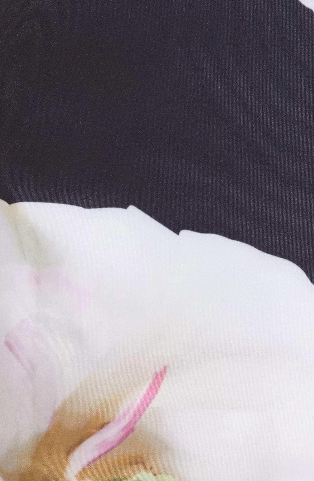 Gardenia Bow Shoulder Body-Con Dress,                             Alternate thumbnail 5, color,