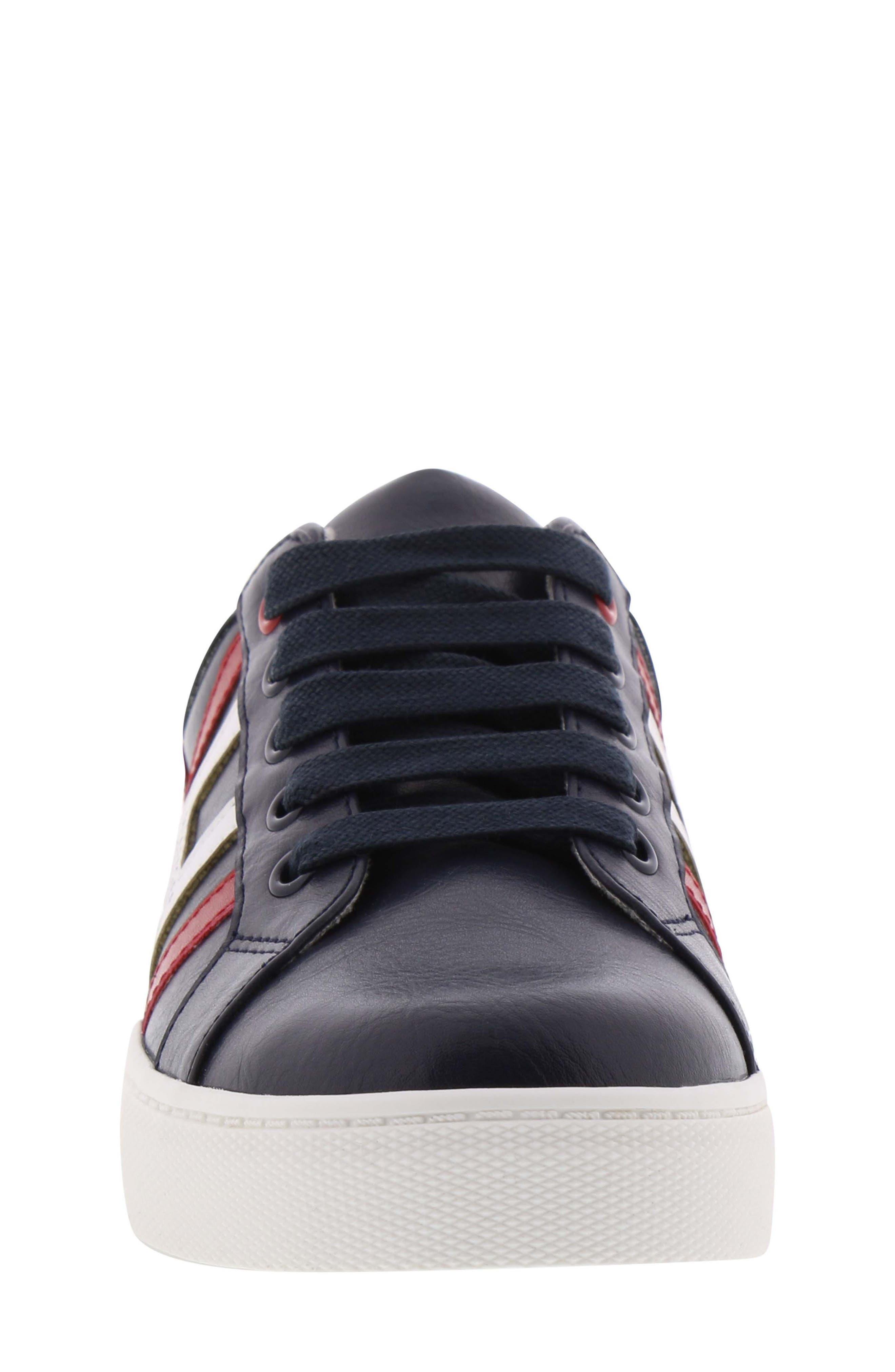 Reece Jacob Sneaker,                             Alternate thumbnail 4, color,                             PEACOAT MULTI