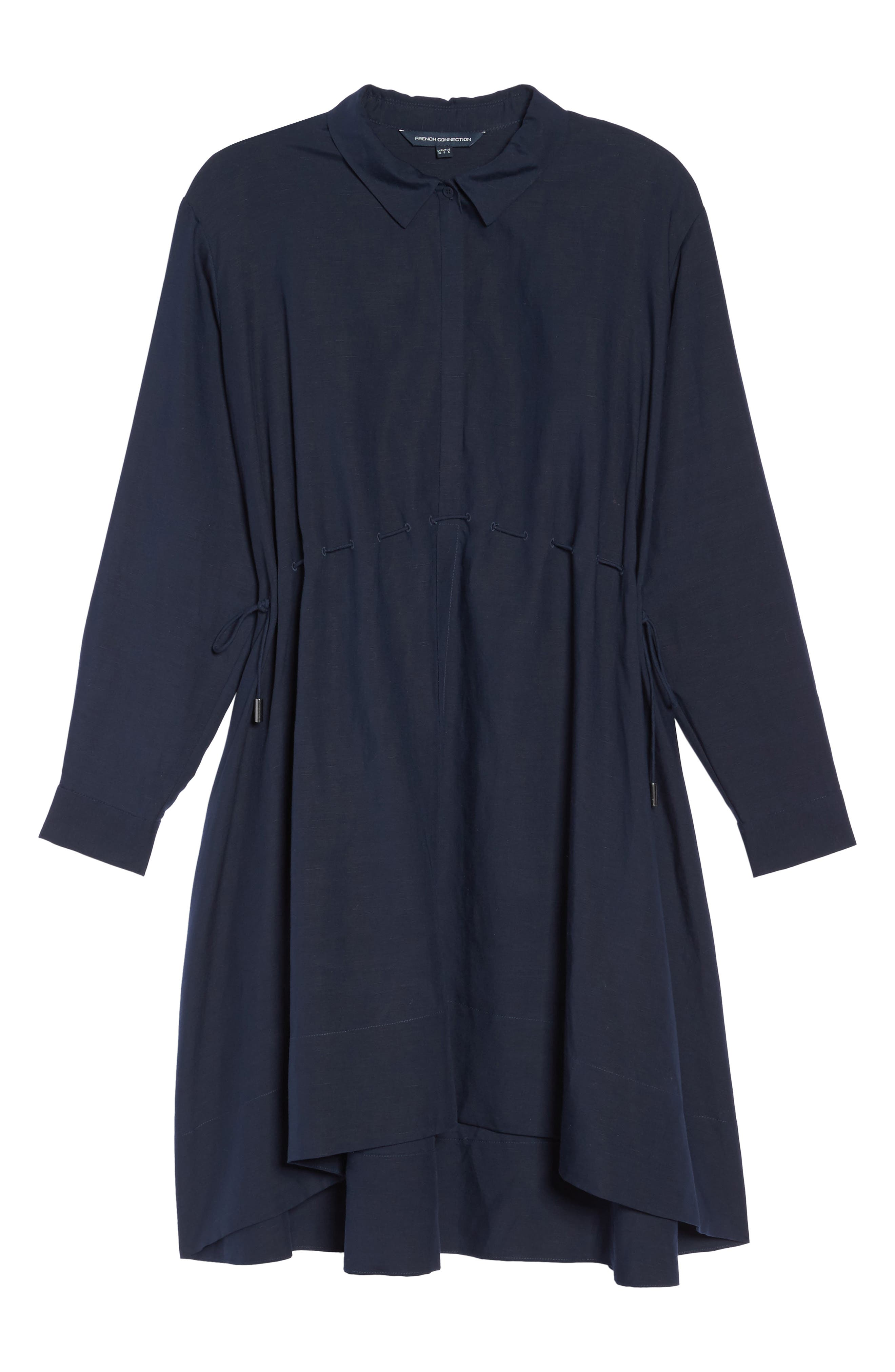 Ellesmere Drape Shirtdress,                             Alternate thumbnail 6, color,