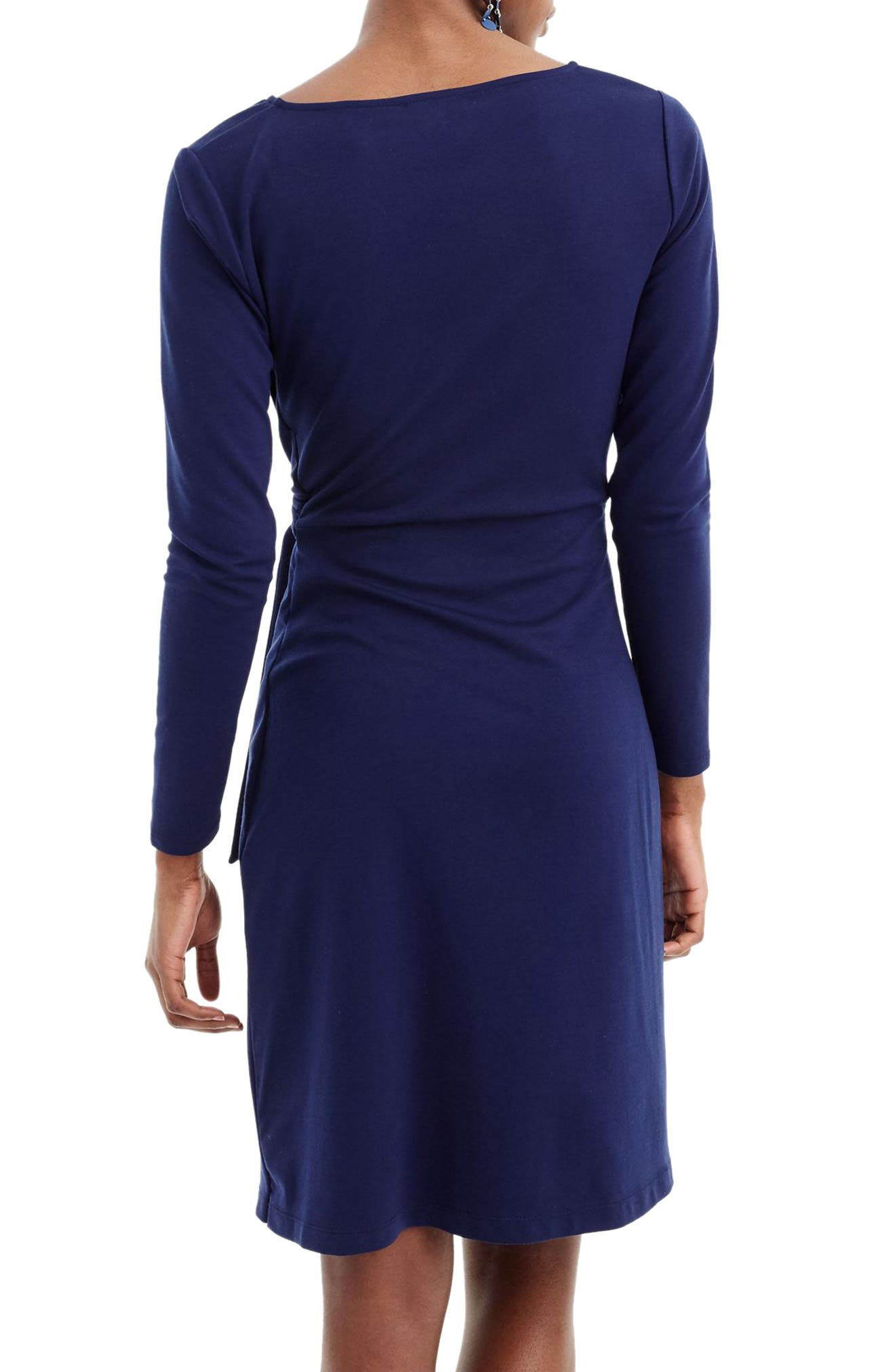 Drapey Tie Waist Dress,                             Alternate thumbnail 2, color,