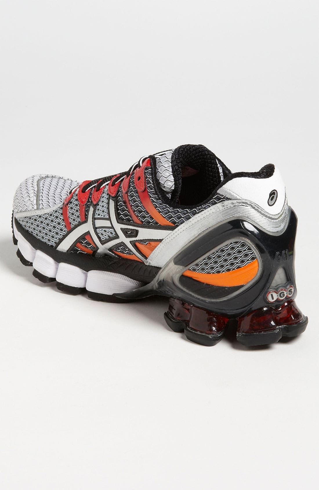 ASICS<SUP>®</SUP>,                             'GEL-Kinsei 4' Running Shoe,                             Alternate thumbnail 4, color,                             100