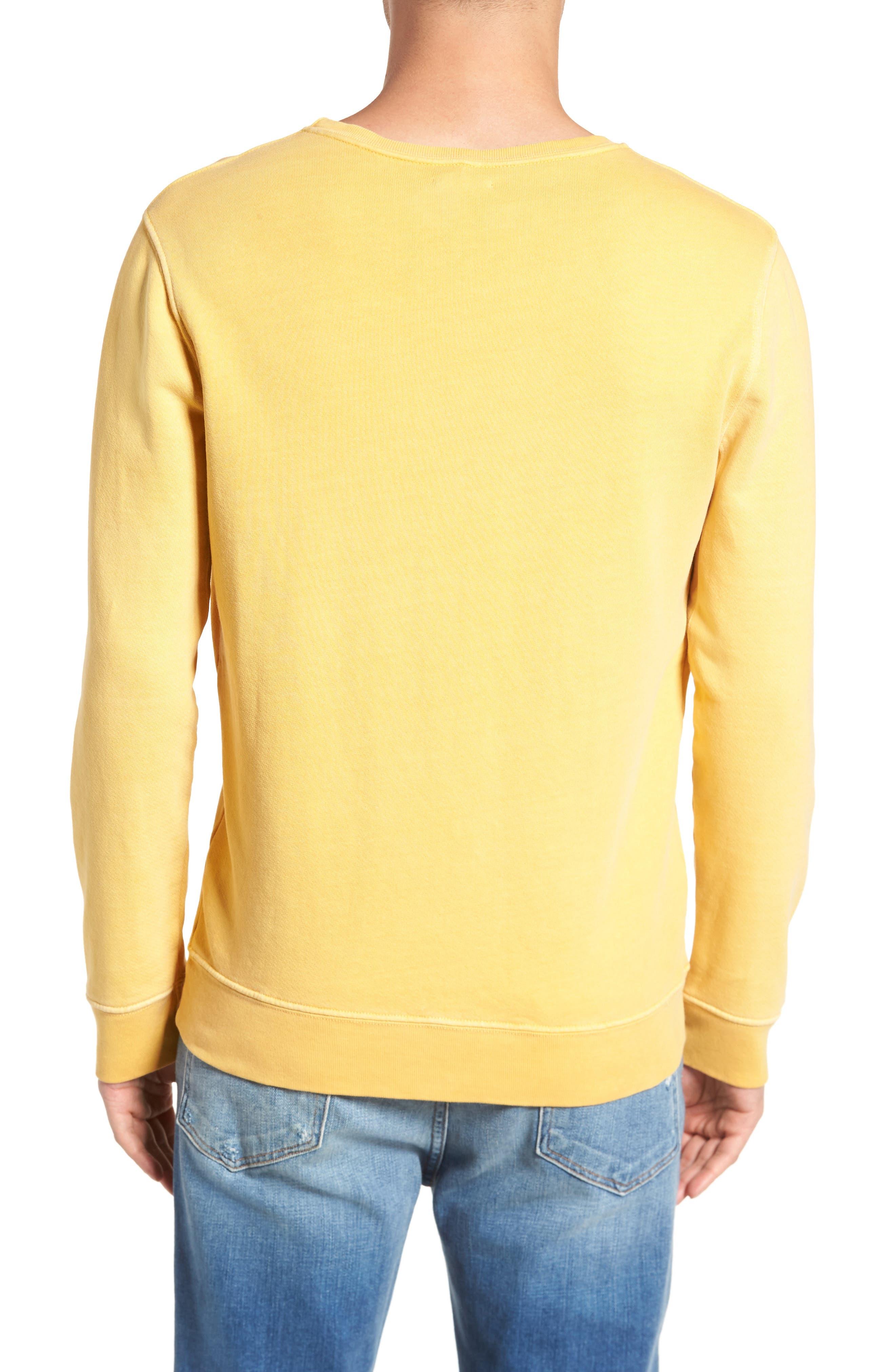 Vintage Crewneck Sweatshirt,                             Alternate thumbnail 6, color,