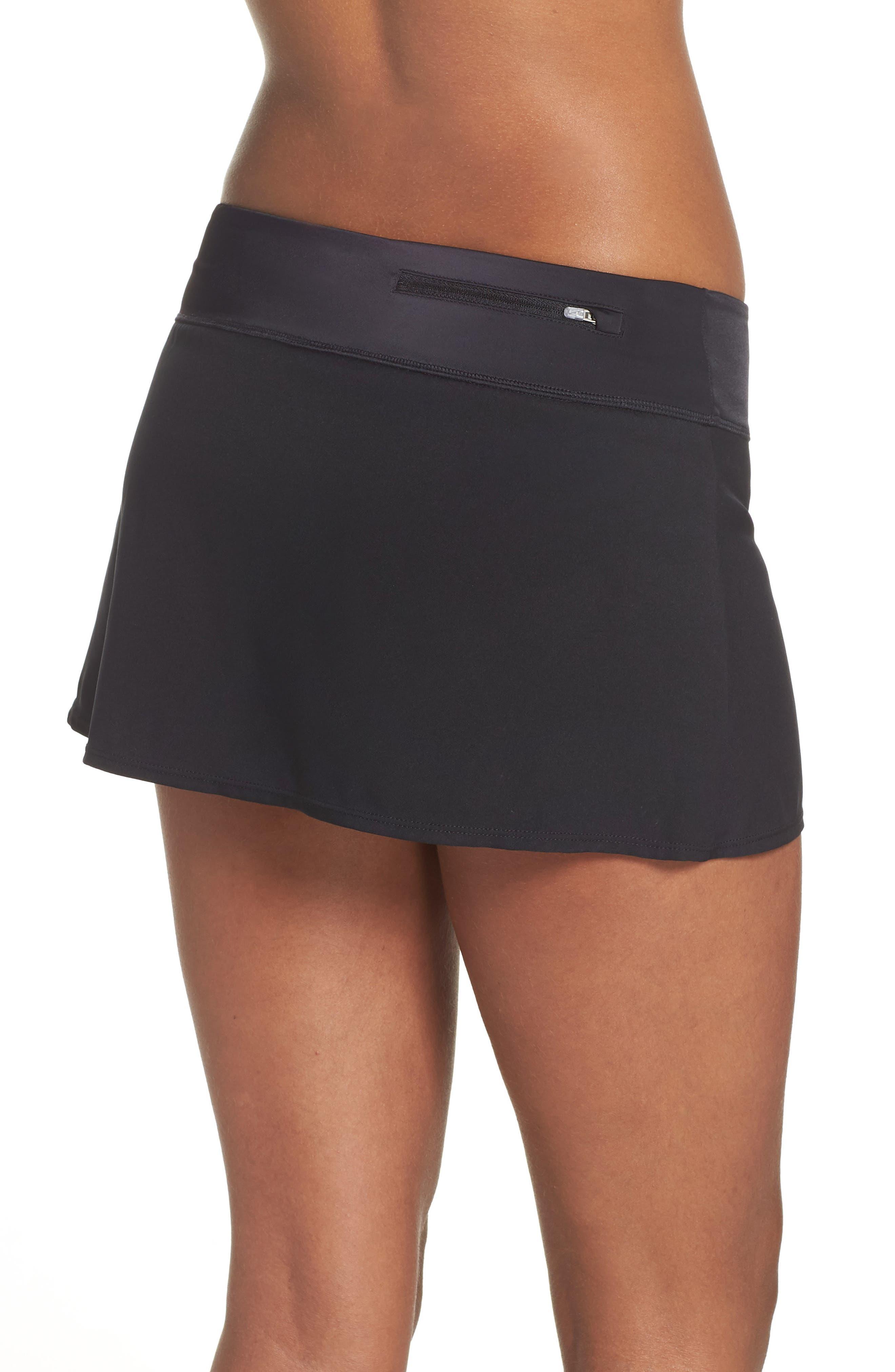 Swim Board Skirt,                             Alternate thumbnail 2, color,                             BLACK