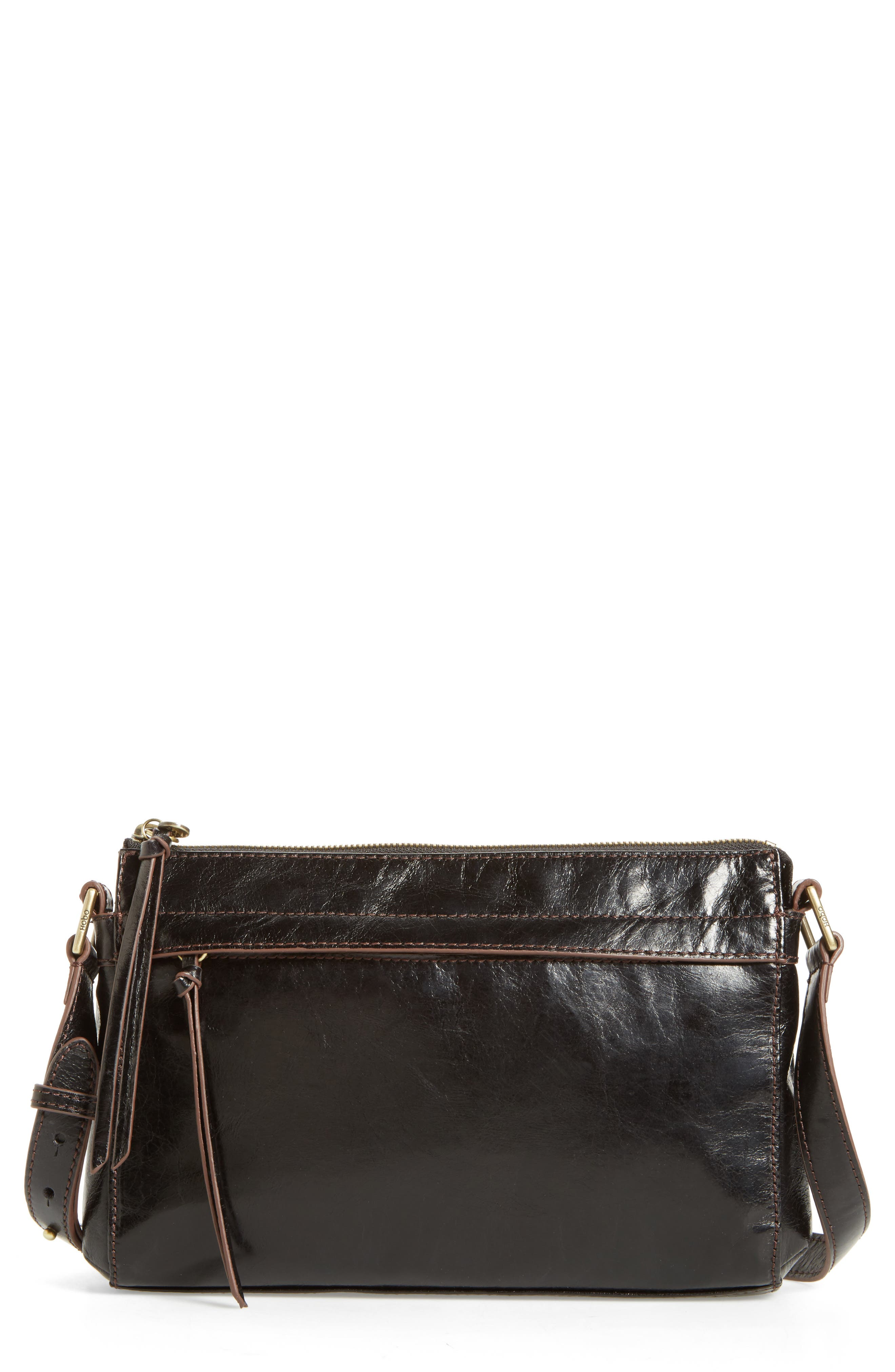Tobey Leather Crossbody Bag,                             Alternate thumbnail 12, color,