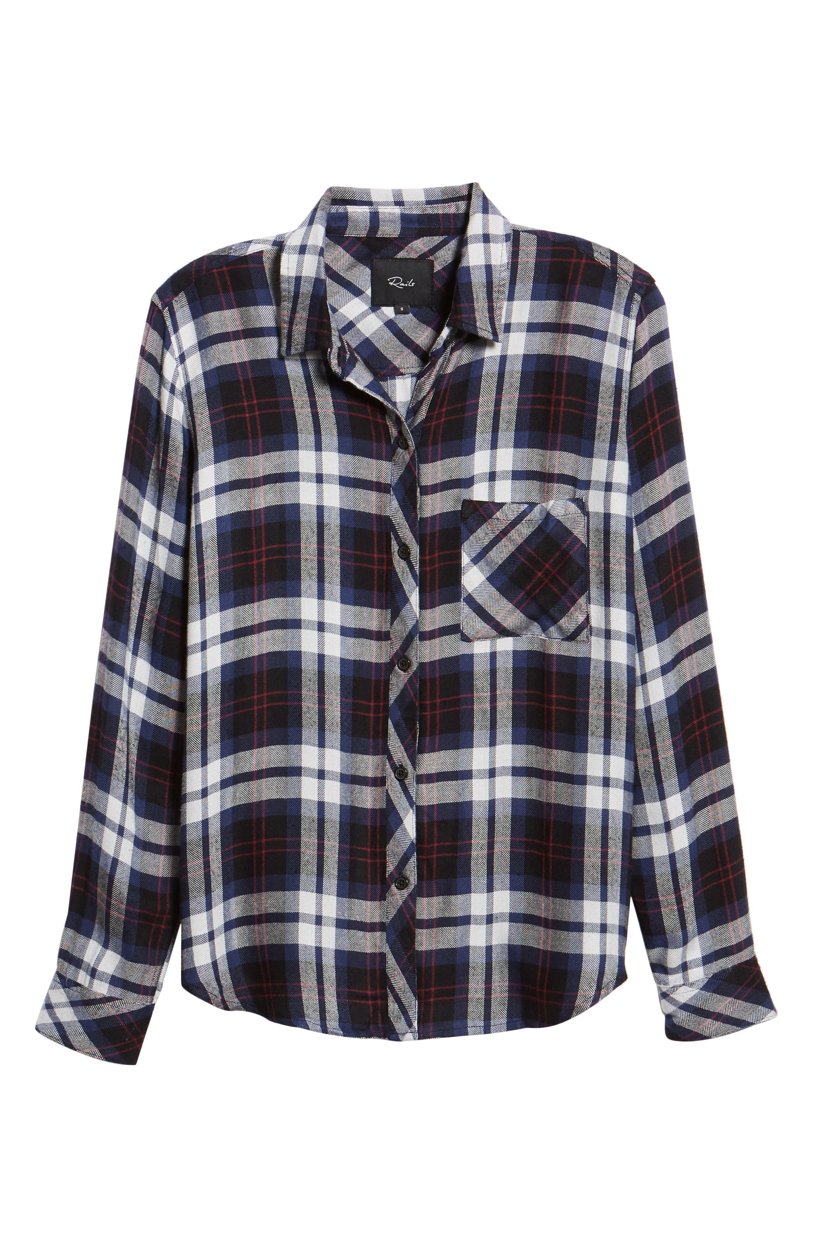 Hunter Plaid Shirt,                             Alternate thumbnail 681, color,