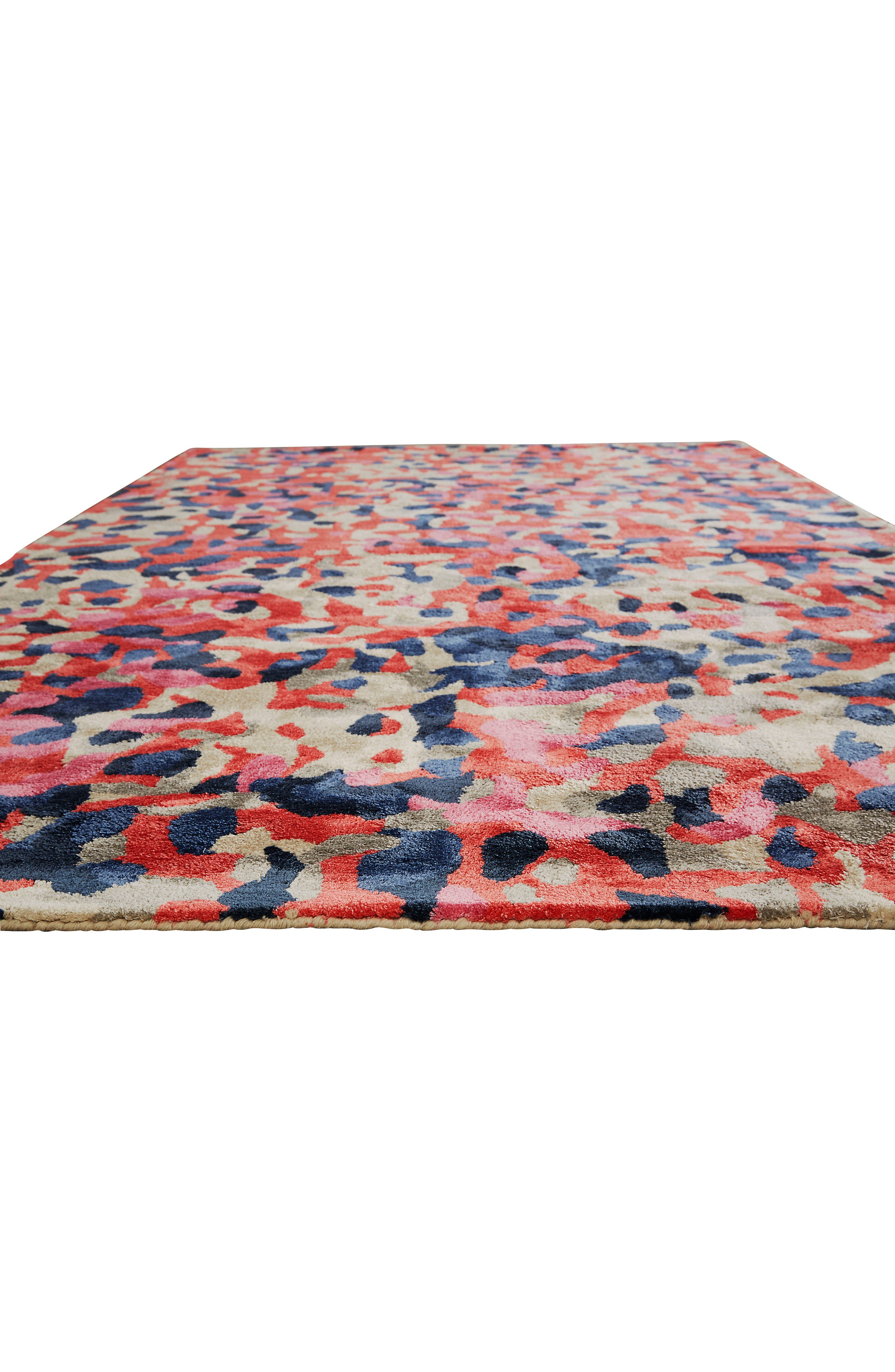 splatter paint rug,                             Alternate thumbnail 4, color,                             650