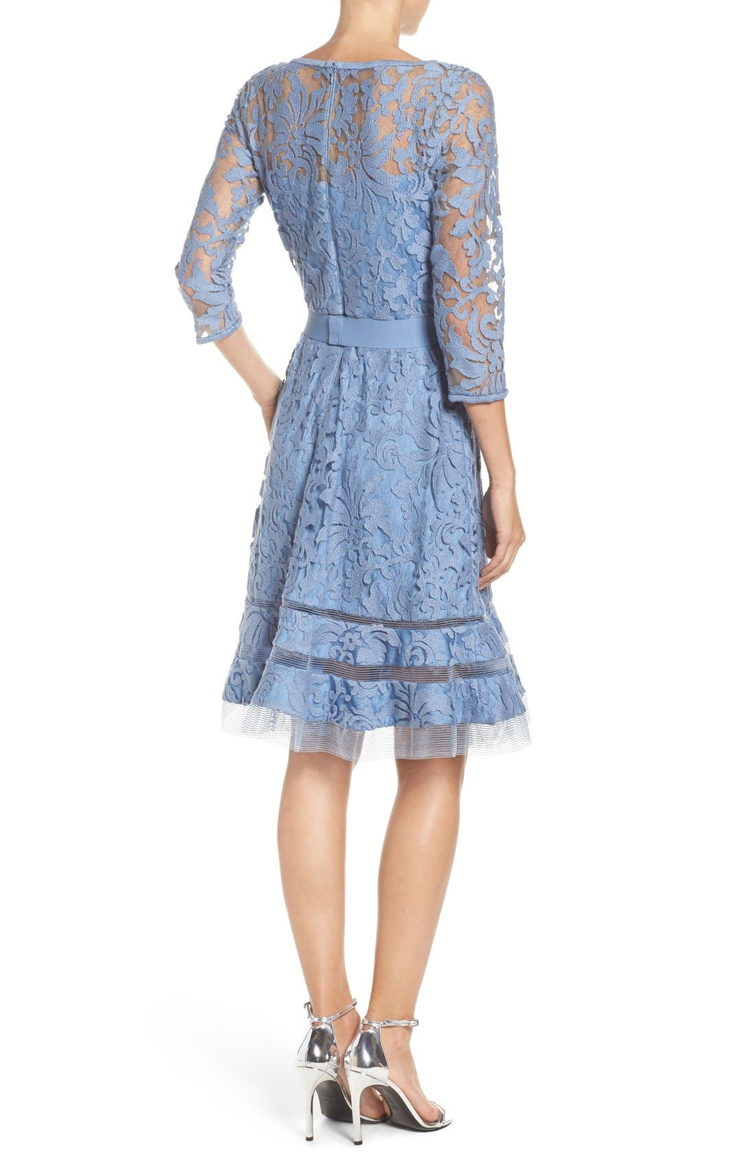 Lace Overlay Dress,                             Alternate thumbnail 27, color,