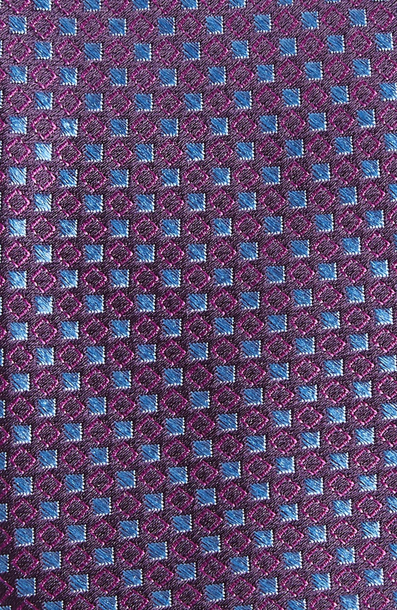 Chad Microdot Silk Tie,                             Alternate thumbnail 13, color,