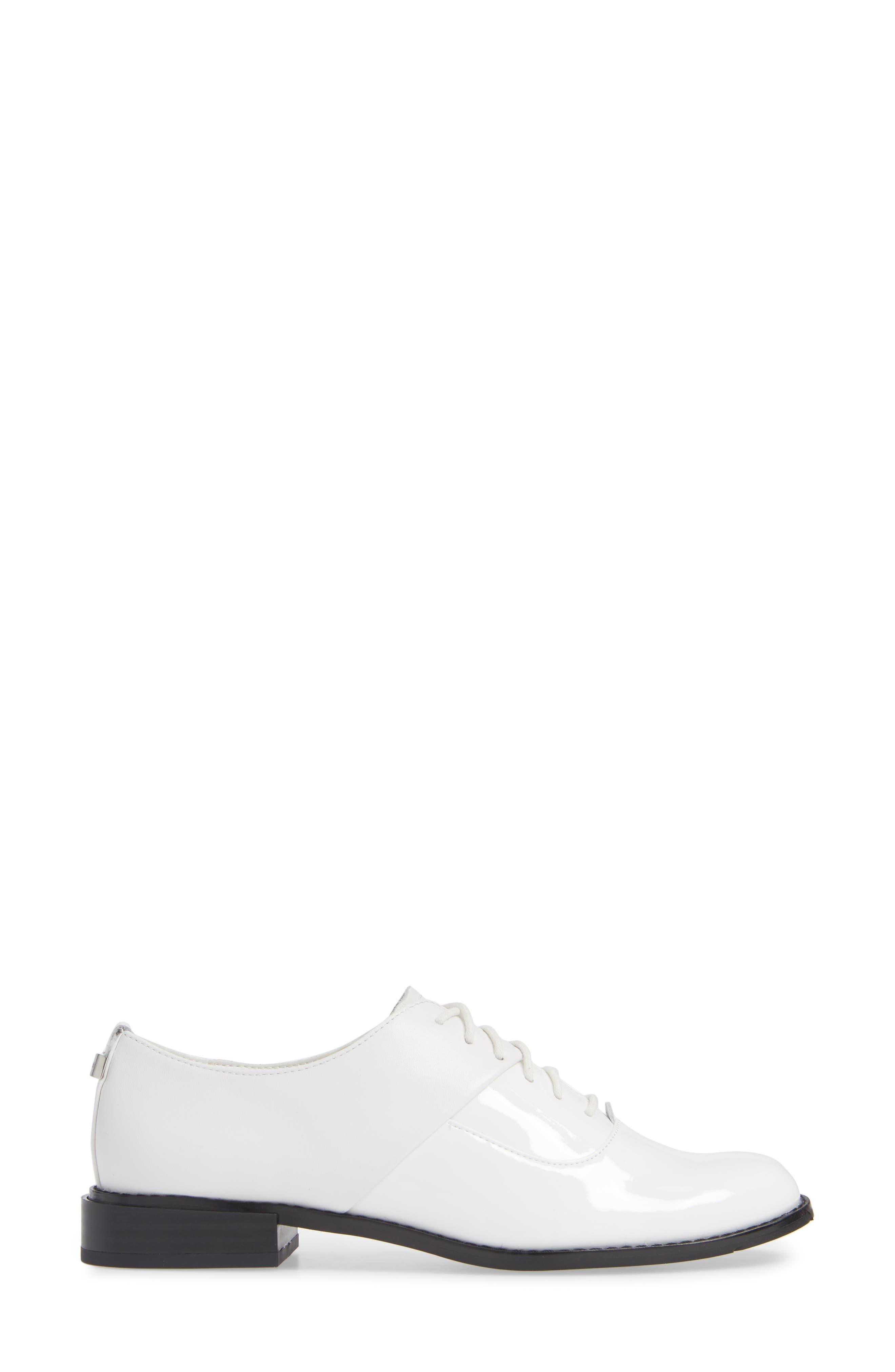 Aracely Oxford,                             Alternate thumbnail 3, color,                             PLATINUM WHITE PATENT