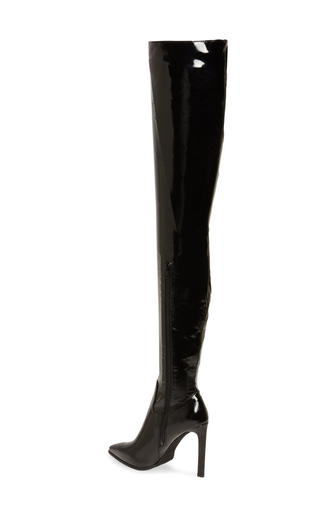 'Sherise' Over the Knee Boot,                             Alternate thumbnail 2, color,                             001