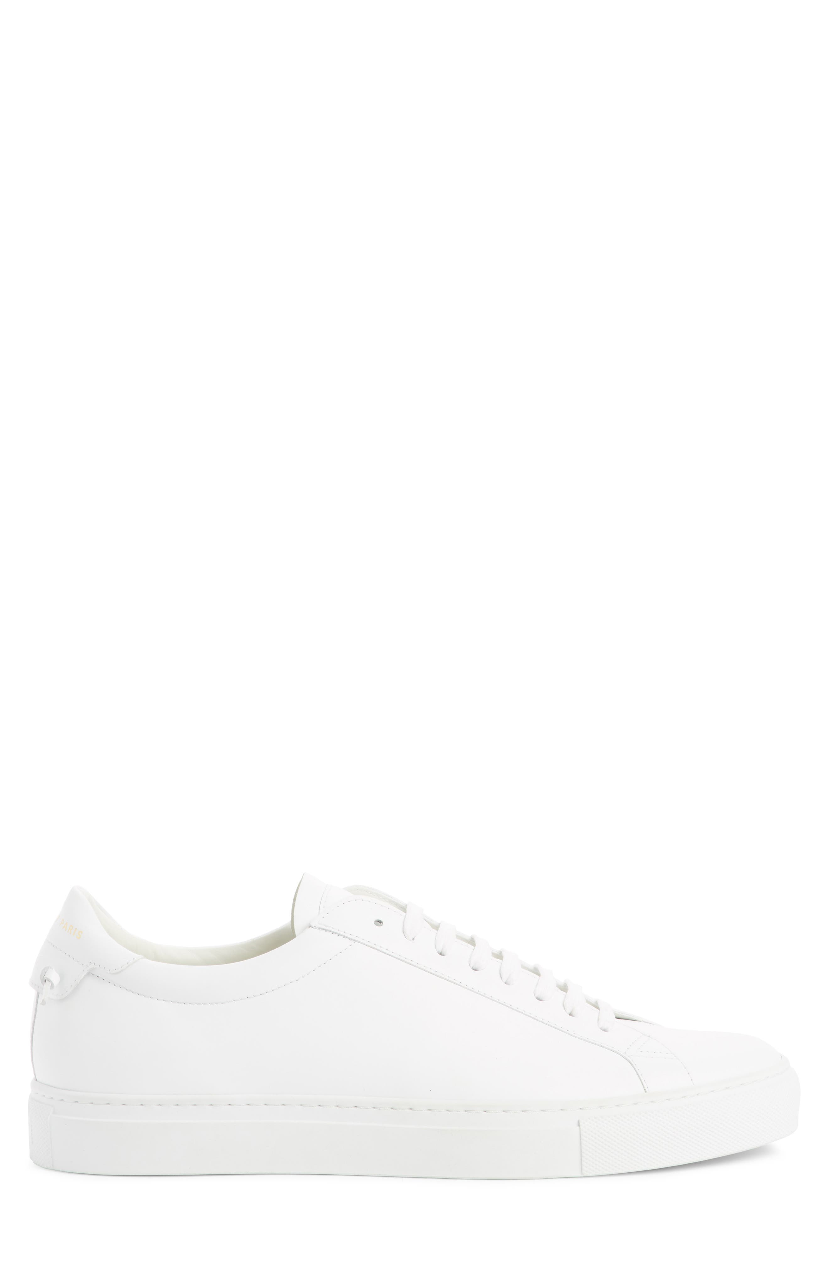 'Urban Knots Lo' Sneaker,                             Alternate thumbnail 3, color,                             WHITE/ WHITE