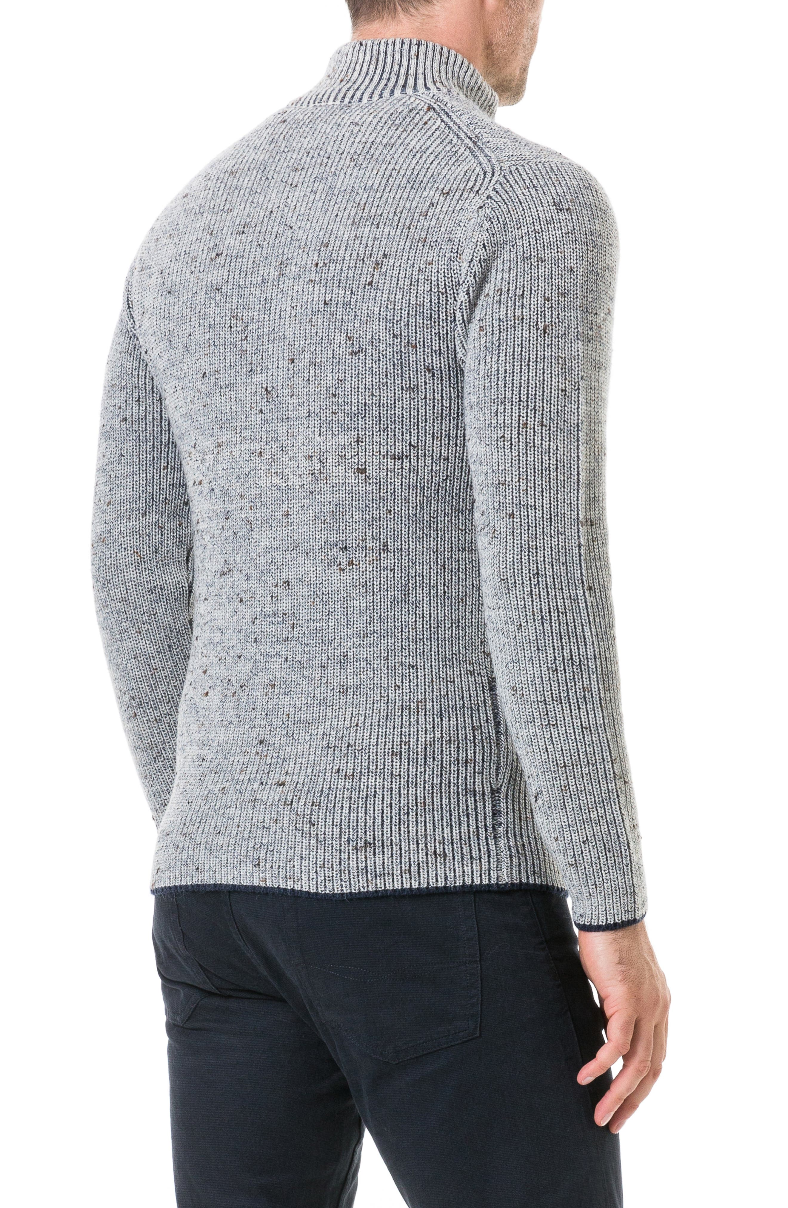 Slope Hill Wool Sweater,                             Alternate thumbnail 2, color,                             OATMEAL