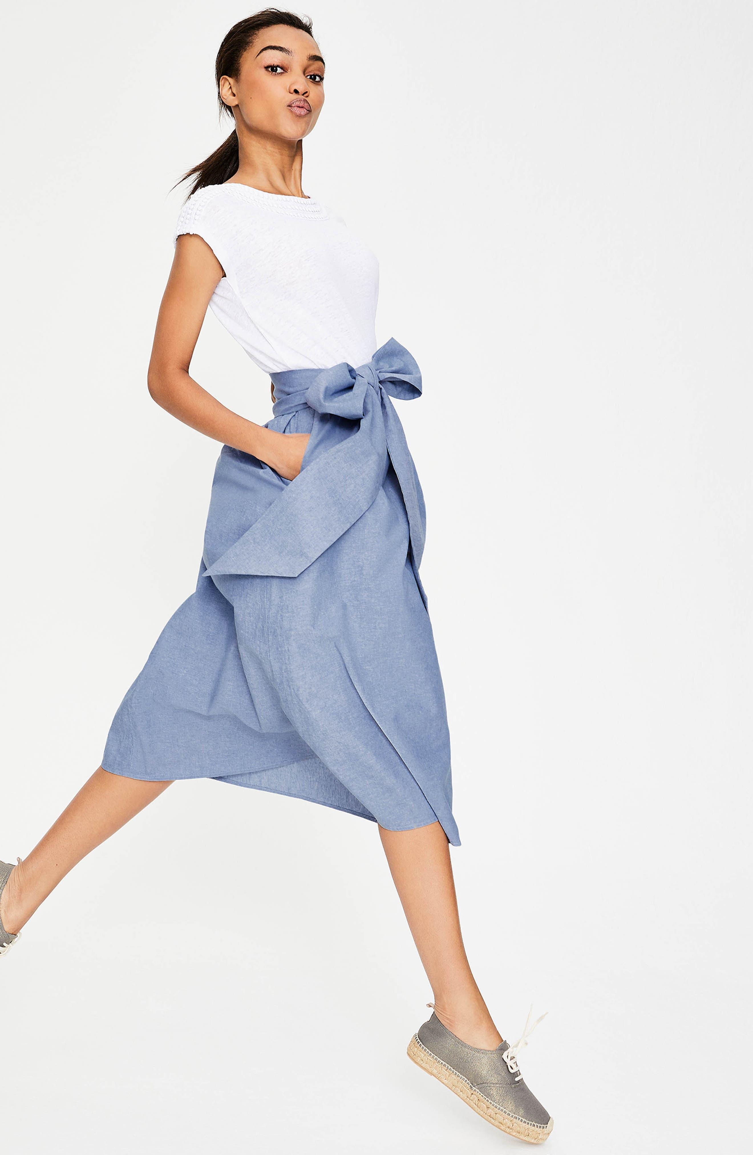 Kiera Midi Skirt,                             Alternate thumbnail 5, color,                             469