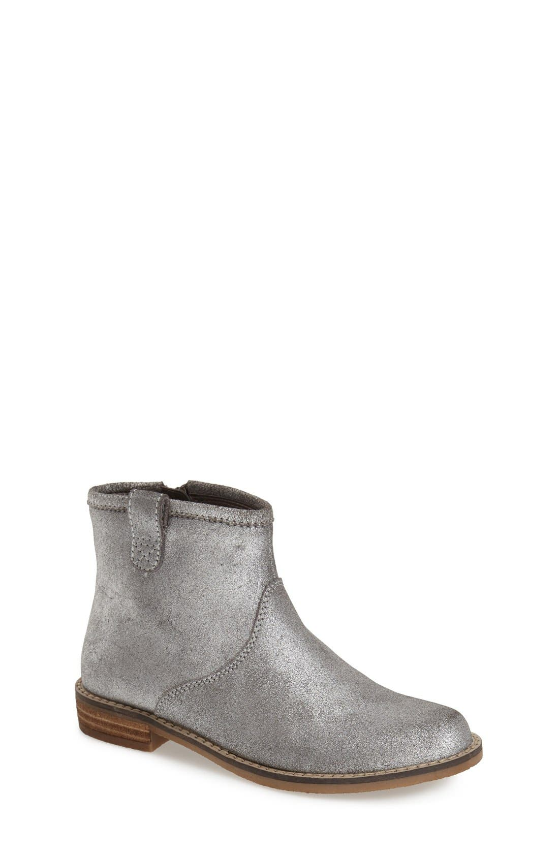 Peek 'Birch' Leather Ankle Boot,                             Main thumbnail 1, color,                             040