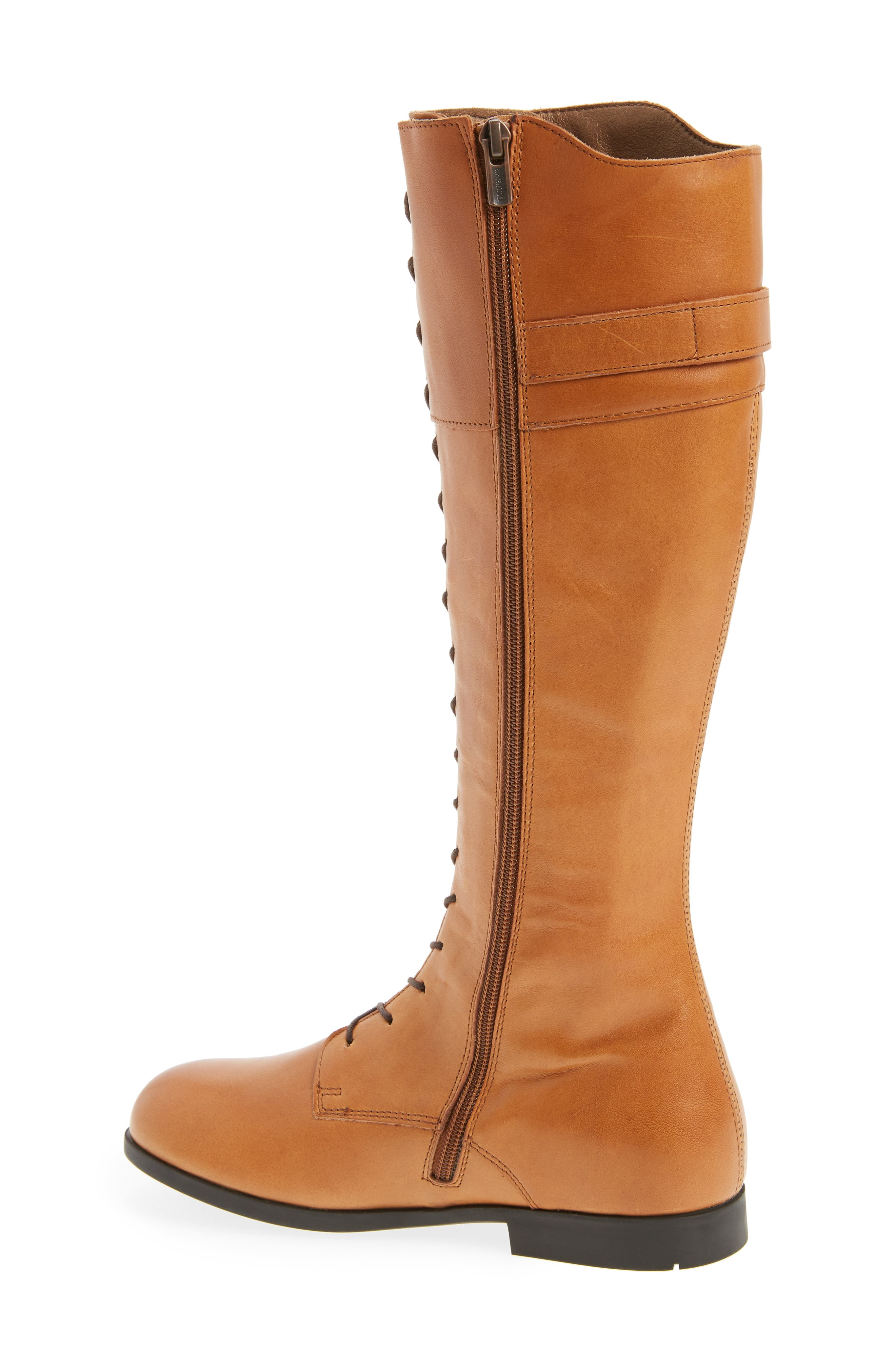 Longford Knee-High Lace-Up Boot,                             Alternate thumbnail 2, color,                             200
