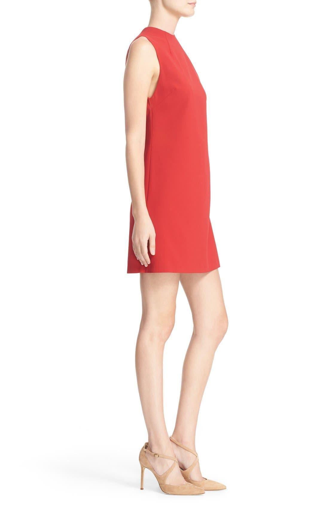 ALICE + OLIVIA,                             'Coley' Mock Neck A-Line Dress,                             Alternate thumbnail 5, color,                             623