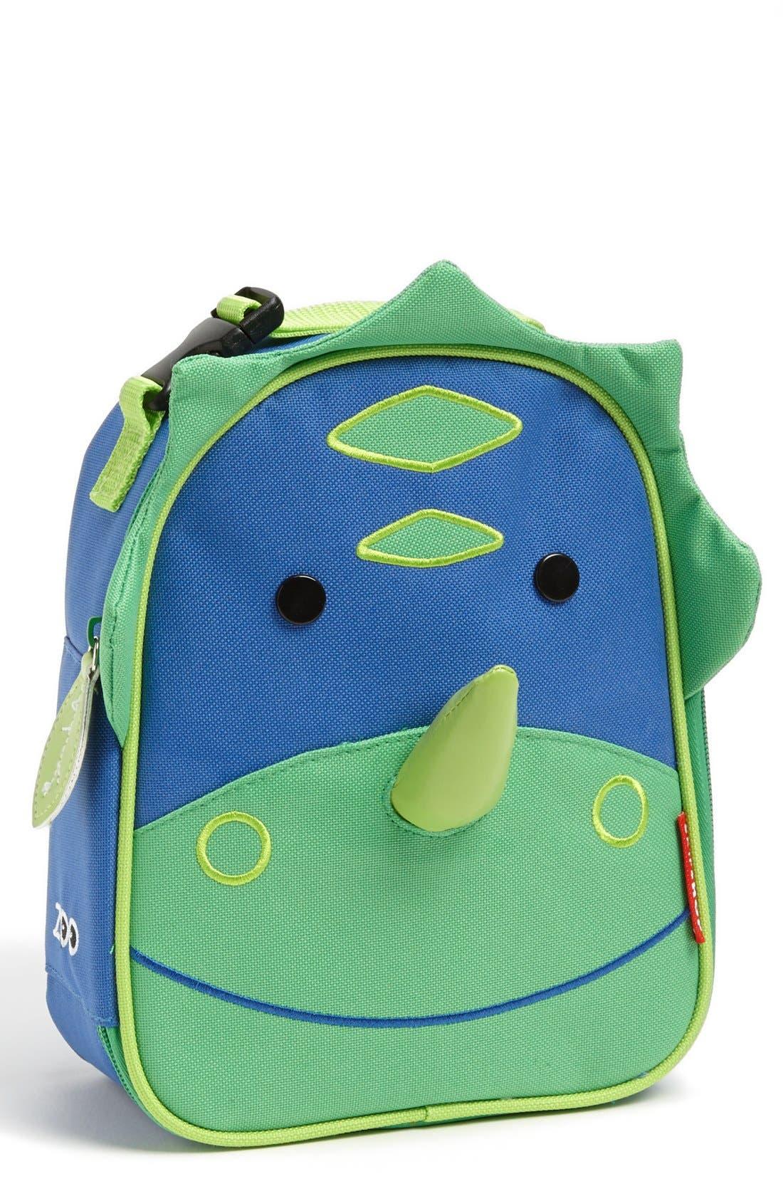 Zoo Lunch Bag,                             Main thumbnail 1, color,                             BLUE