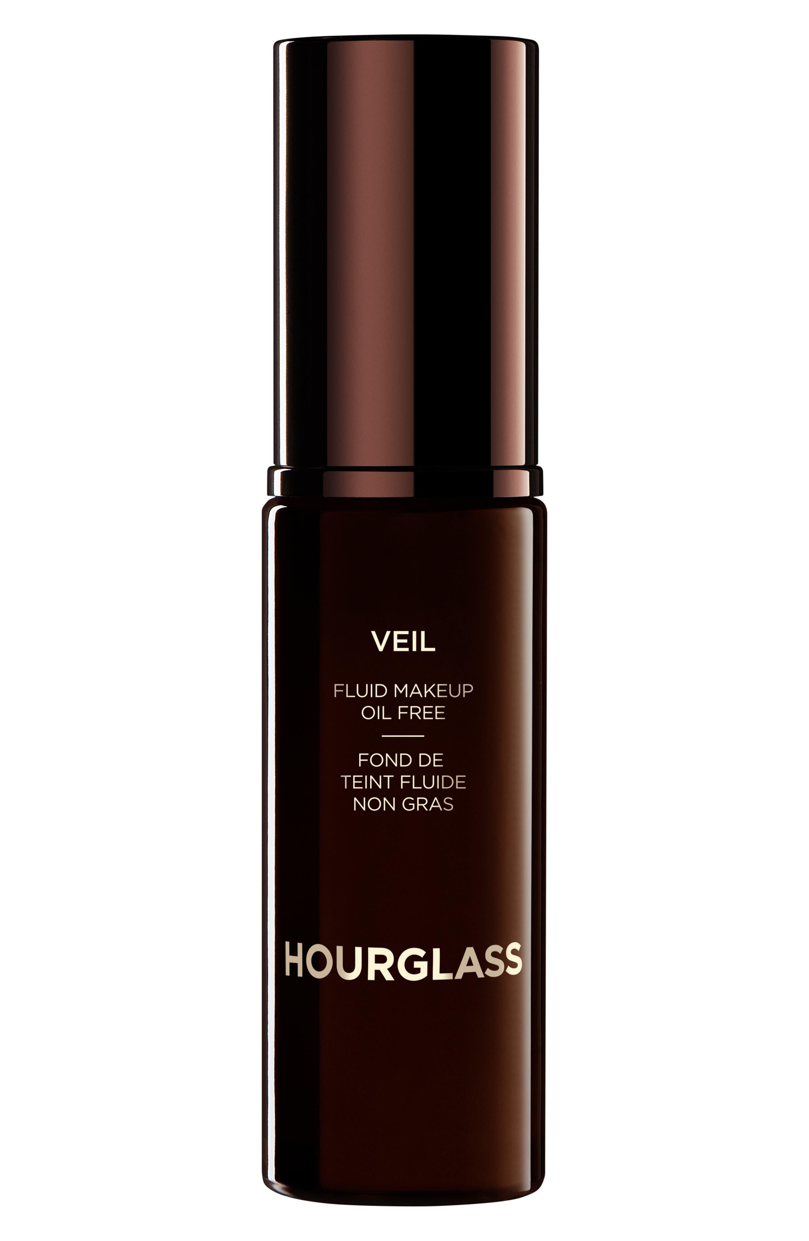 HOURGLASS,                             Veil Fluid Makeup Oil Free Broad Spectrum SPF 15,                             Main thumbnail 1, color,                             NO. 6 SABLE