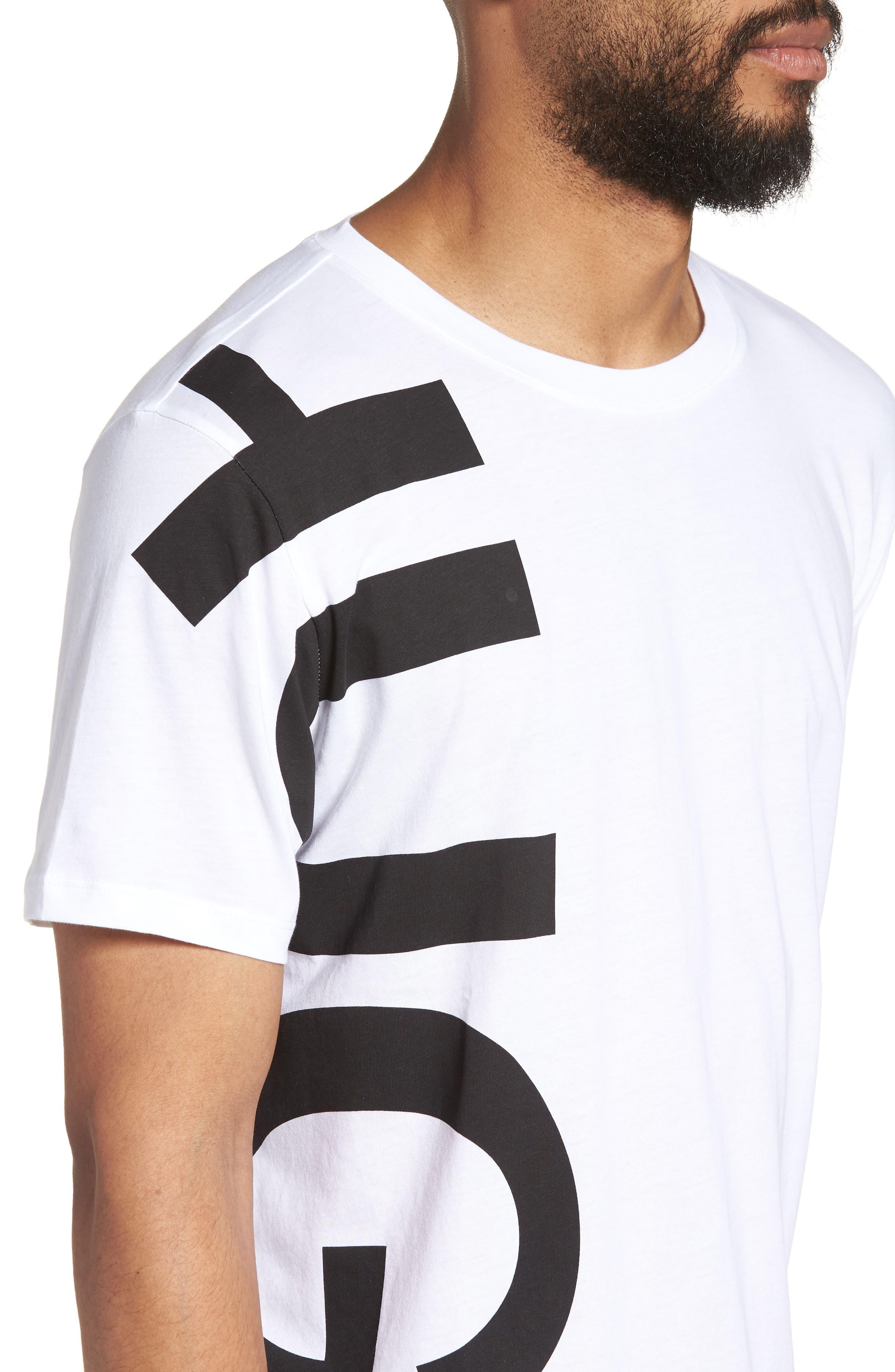 BOSS Daws Crewneck T-Shirt,                             Alternate thumbnail 8, color,