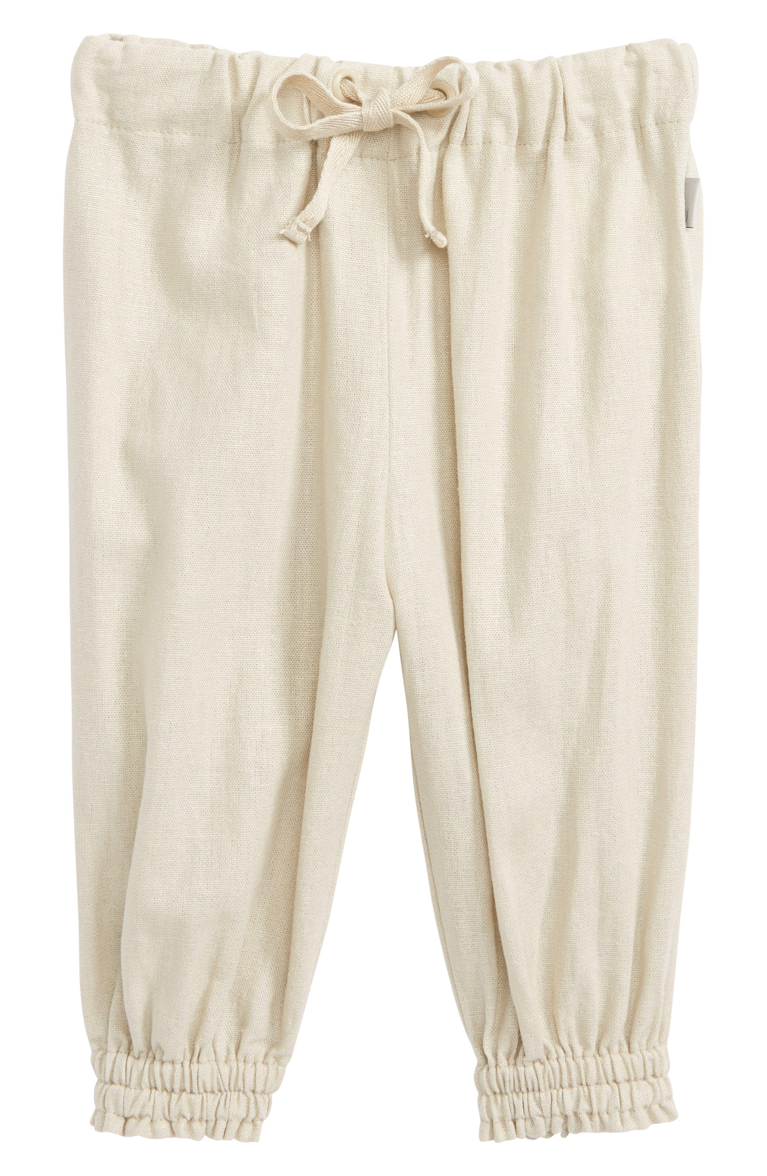 Lina Linen Blend Pants,                             Main thumbnail 1, color,