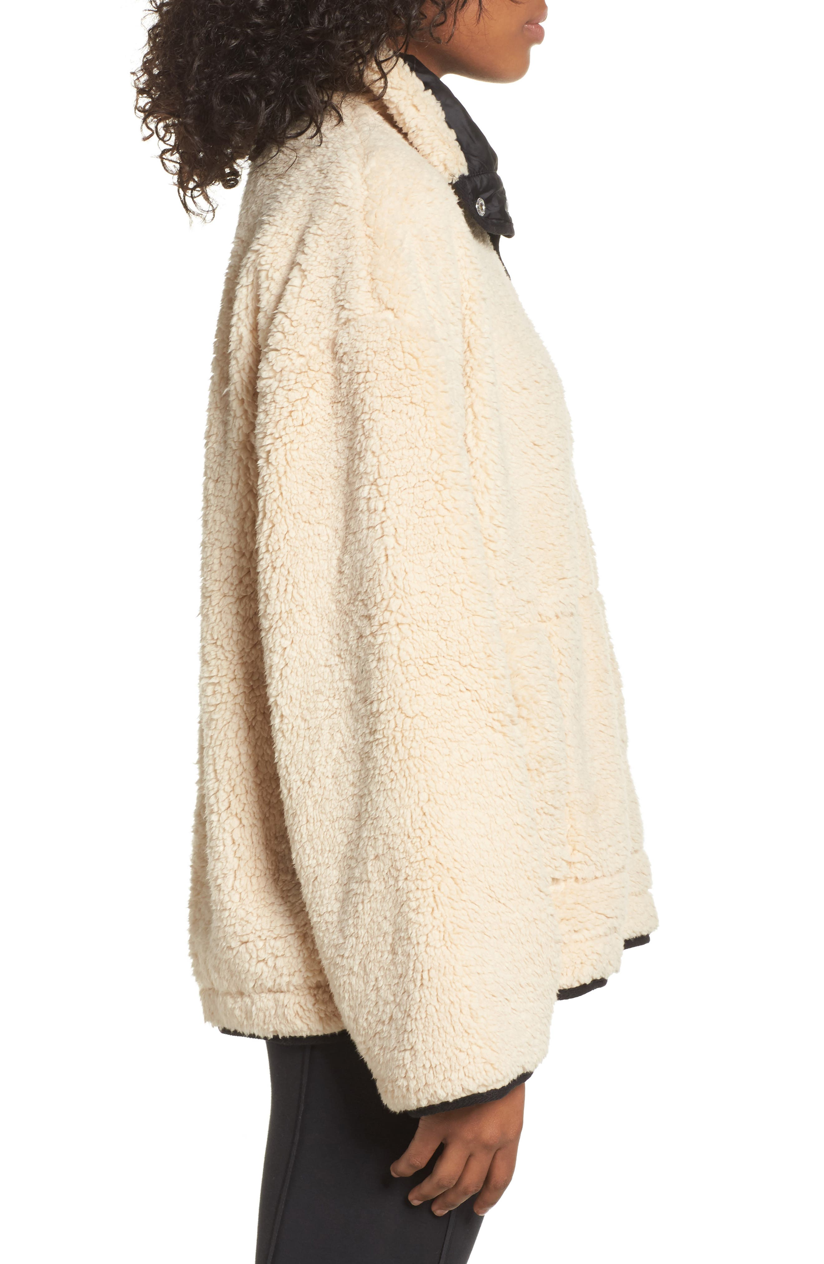 Free People Oh So Cozy Fleece Pullover,                             Alternate thumbnail 7, color,