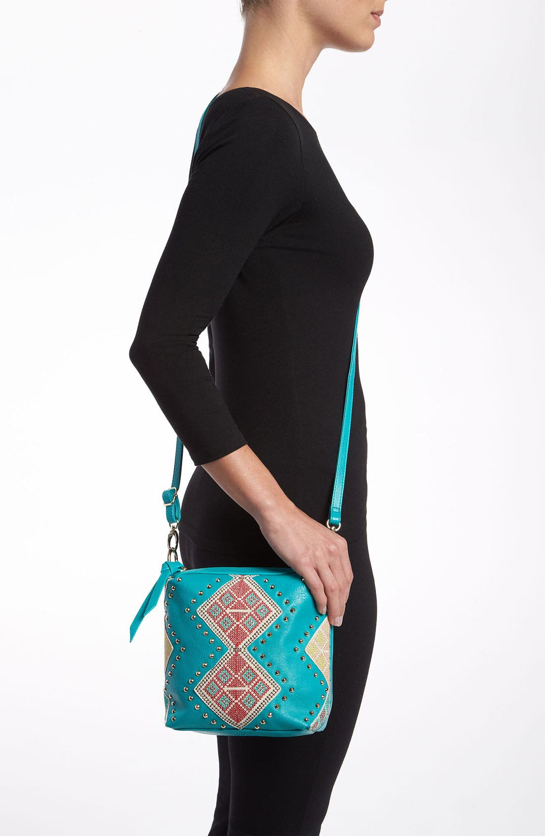 'Charlene' Crossbody Bag,                             Alternate thumbnail 4, color,                             440