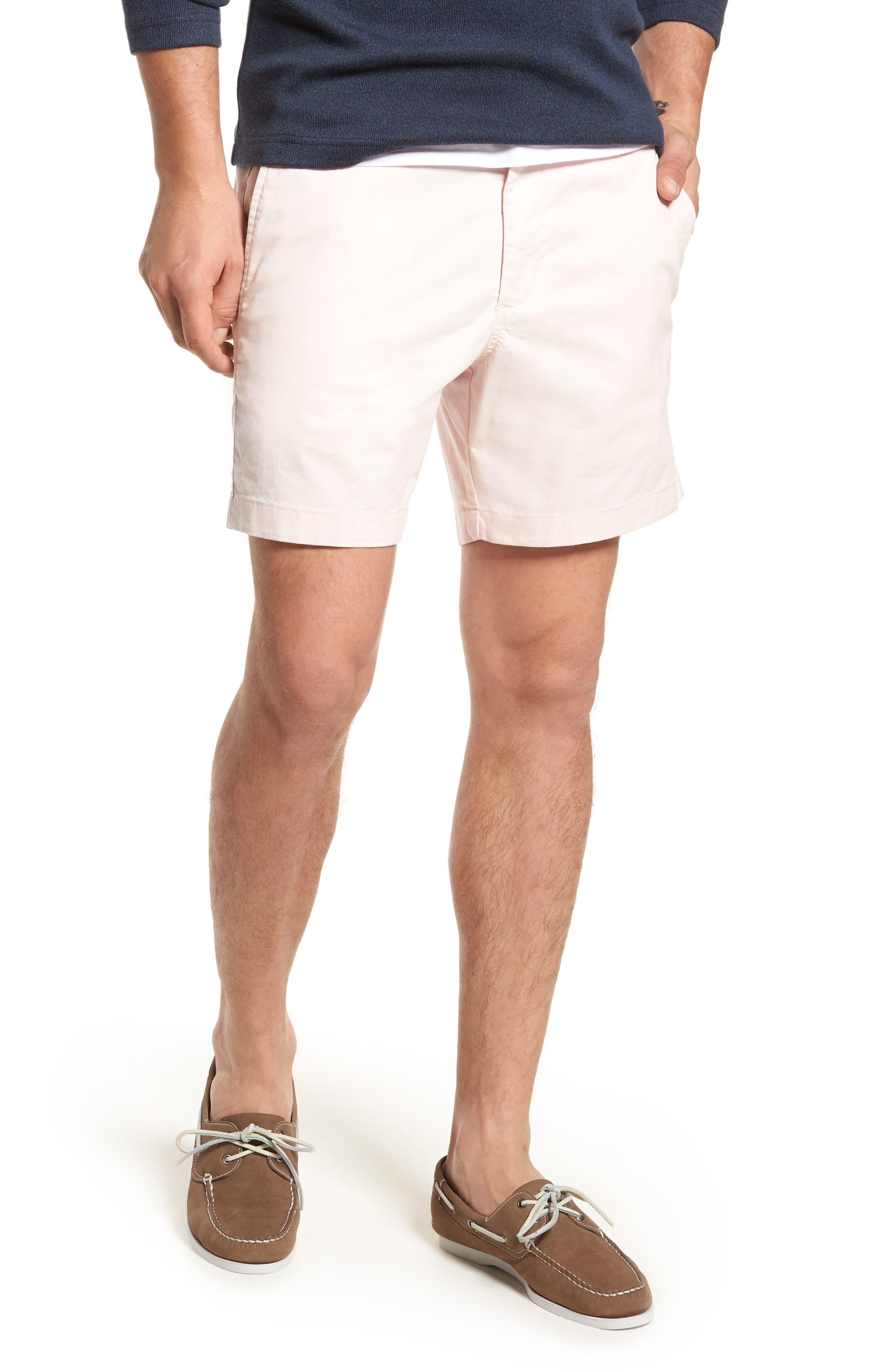 Ballard Slim Fit Stretch Chino 7-Inch Shorts,                             Main thumbnail 12, color,
