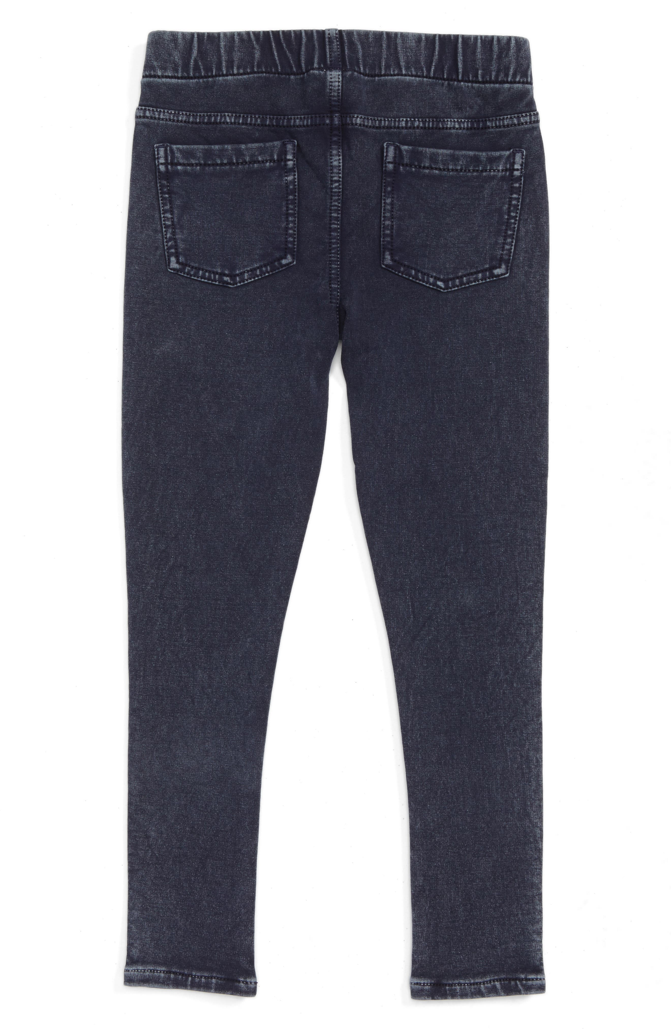 'Sadie' Jeggings,                             Alternate thumbnail 2, color,                             DARK INDIGO WASH
