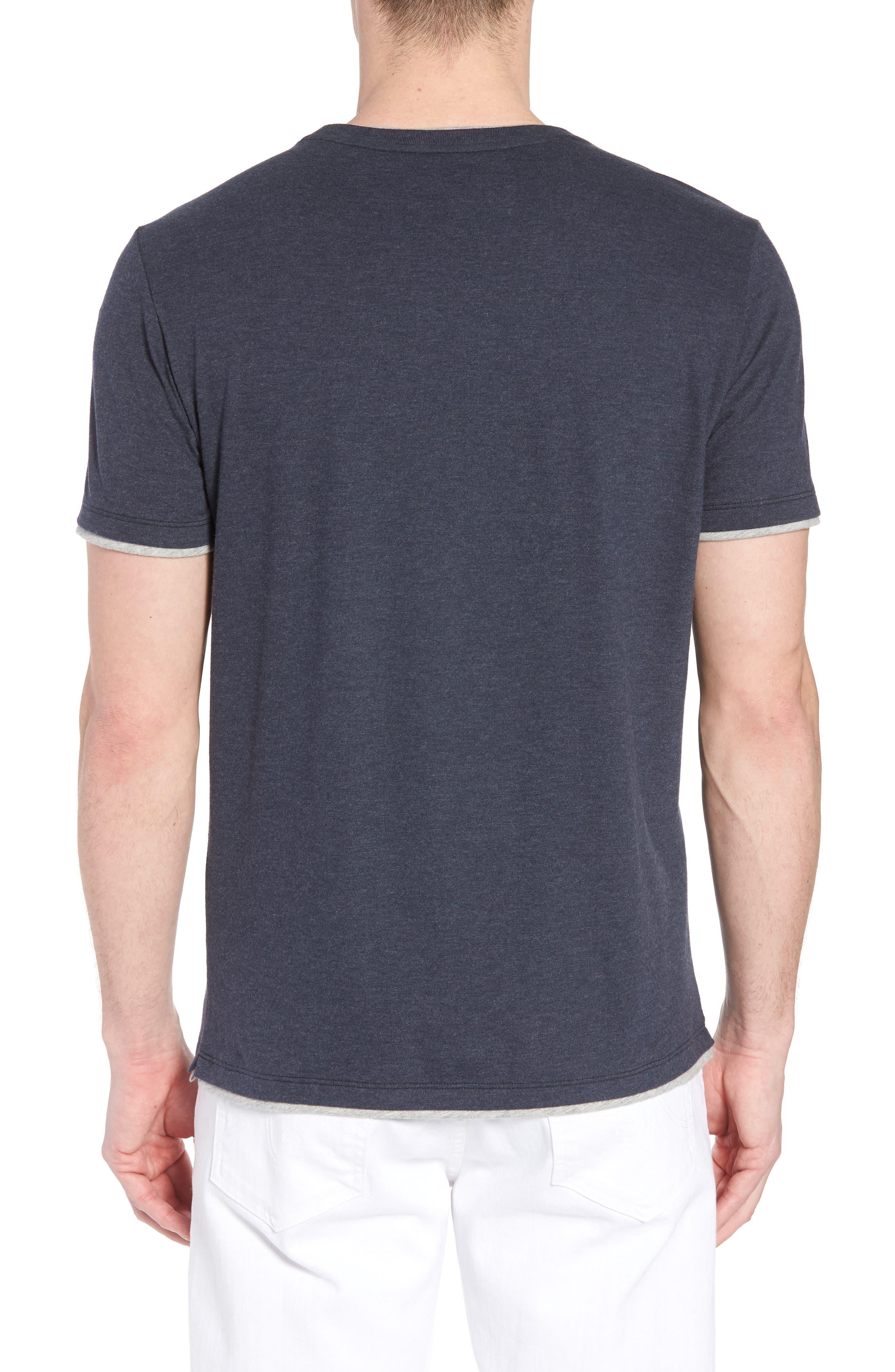 Halifax Crewneck T-Shirt,                             Alternate thumbnail 2, color,                             NAVY