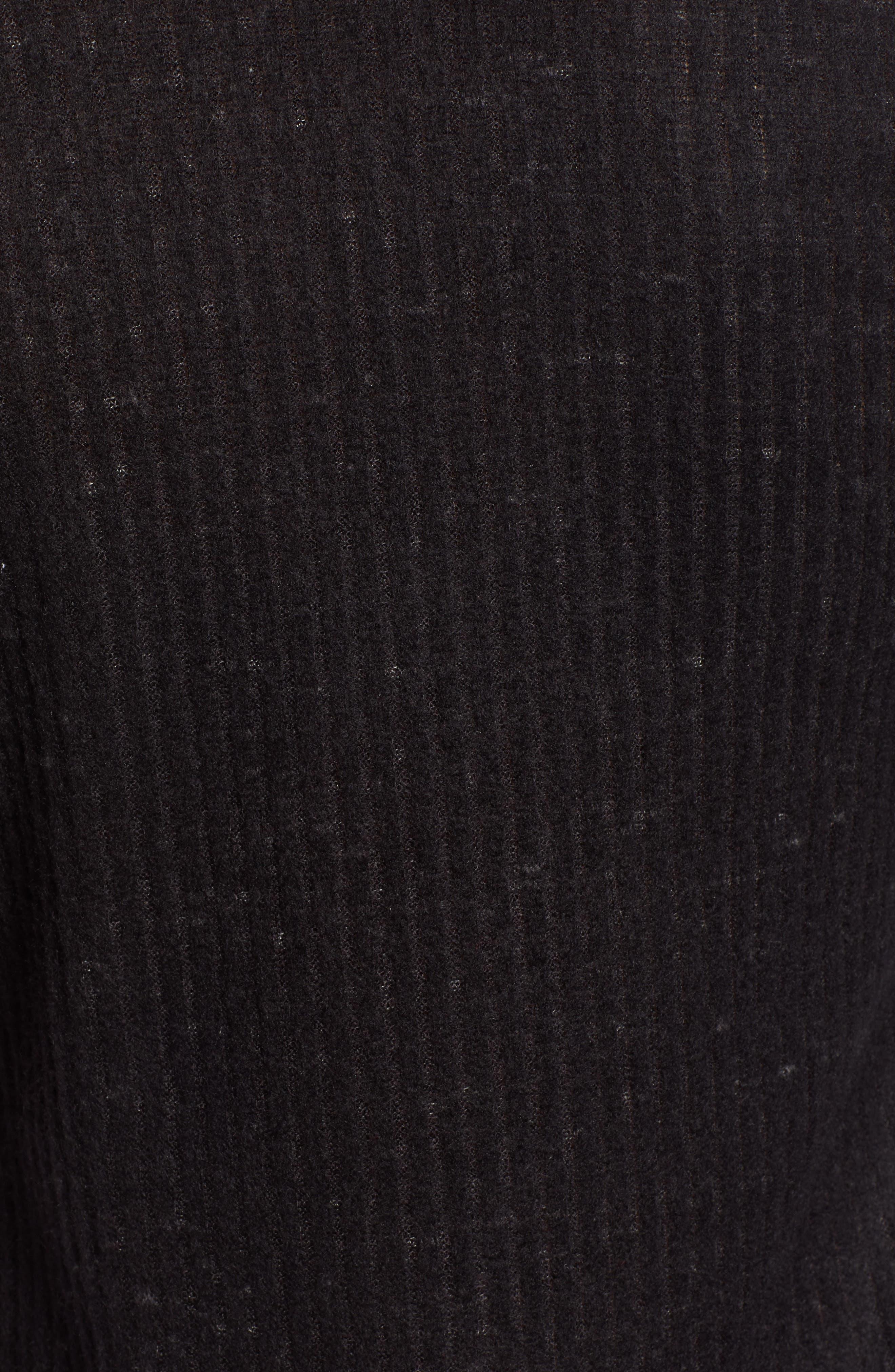 SOCIALITE,                             Sweater Dress,                             Alternate thumbnail 6, color,                             BLACK