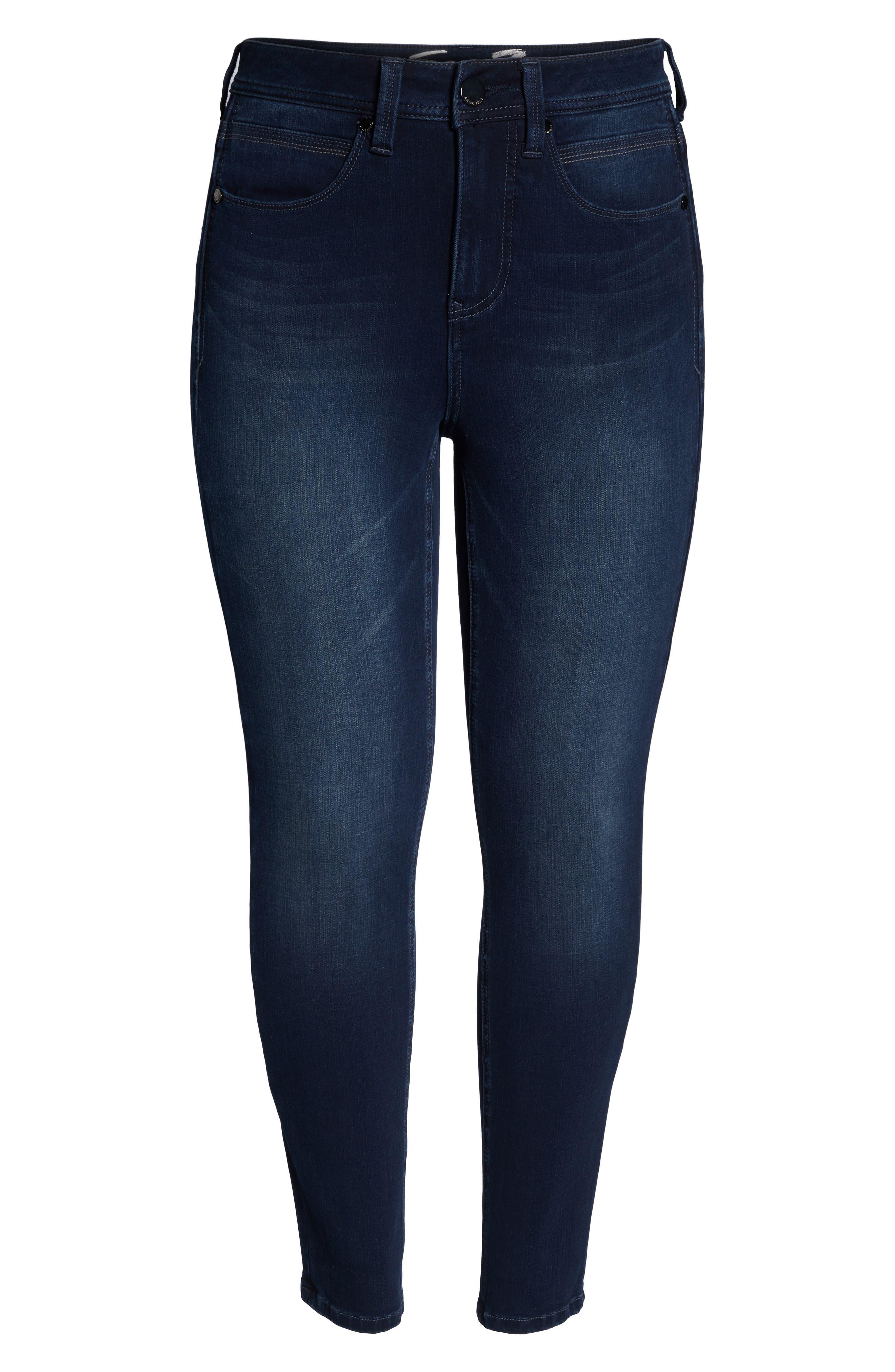 Tummyless Skinny Jeans,                             Alternate thumbnail 7, color,                             JE TAIME