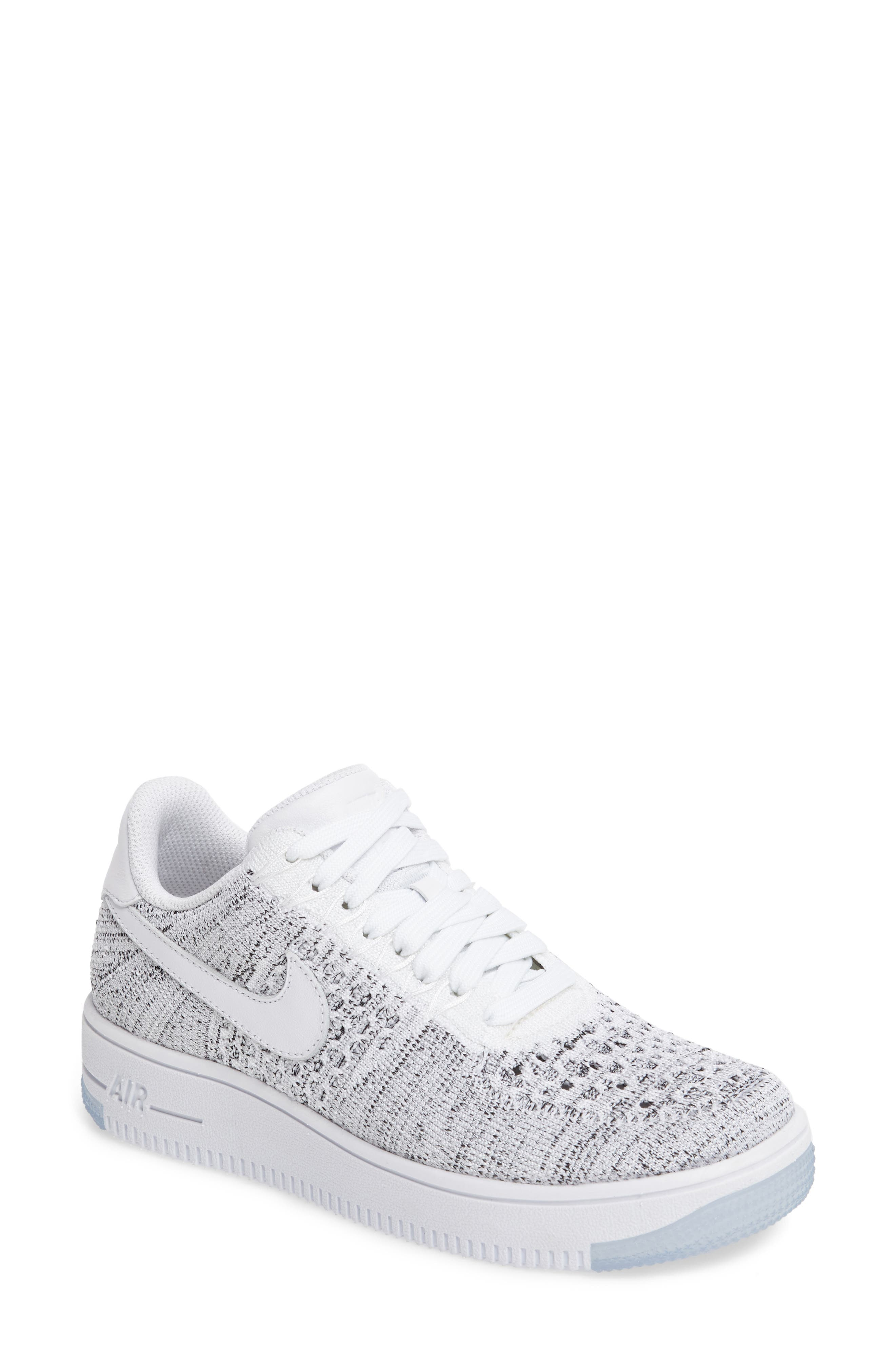 'Air Force 1 Flyknit Low' Sneaker,                             Main thumbnail 5, color,