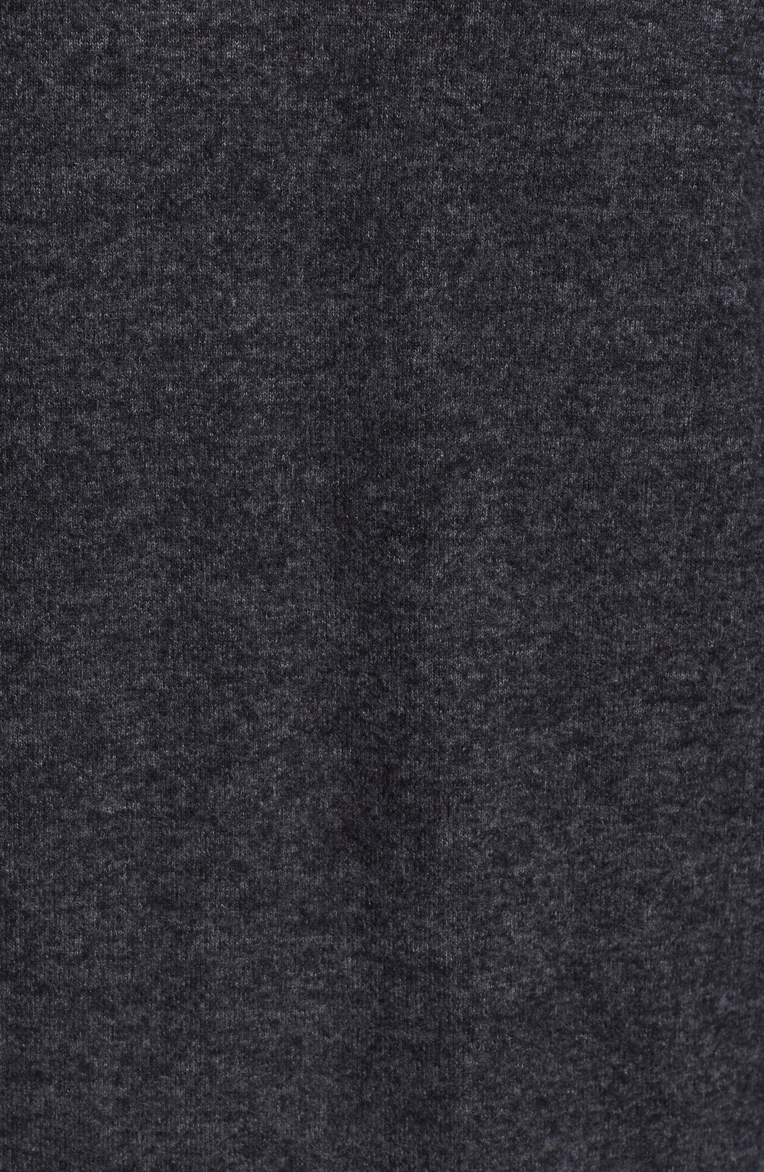 Cozy Sweatshirt,                             Alternate thumbnail 5, color,                             BLACK