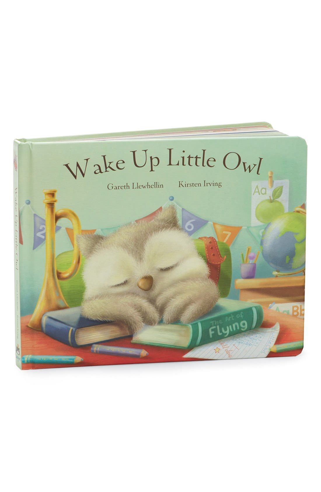 'Wake Up Little Owl' Board Book,                             Main thumbnail 1, color,                             NO COLOR