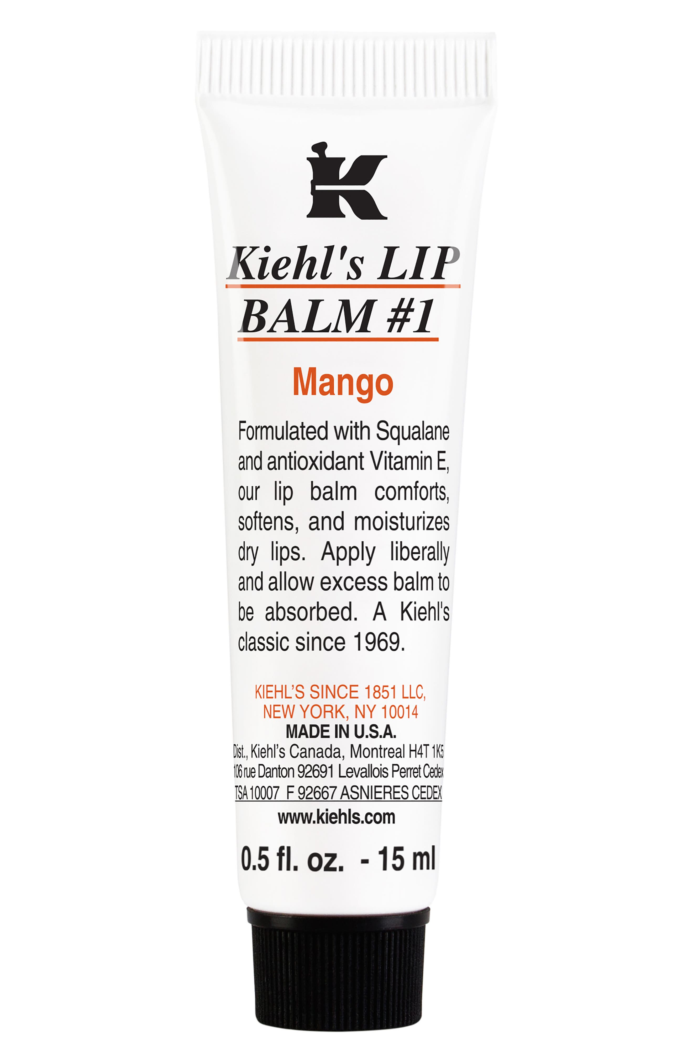 Flavored Lip Balm #1,                             Main thumbnail 1, color,                             MANGO