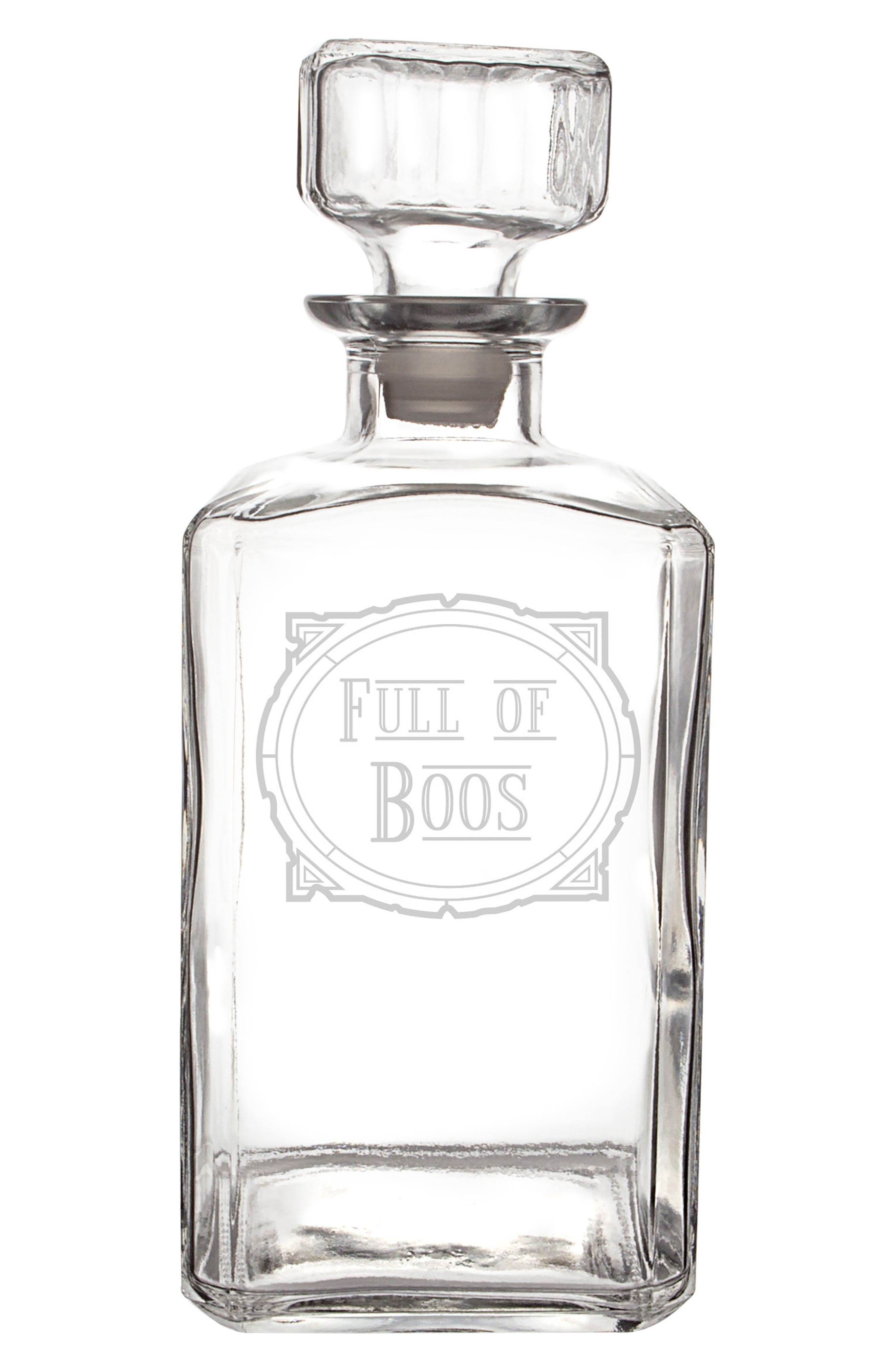 Full of Boos Decanter,                         Main,                         color, 100