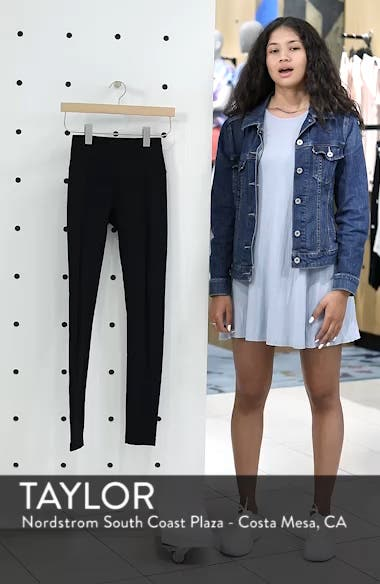 Reinvent Recycled High Waist Leggings, sales video thumbnail