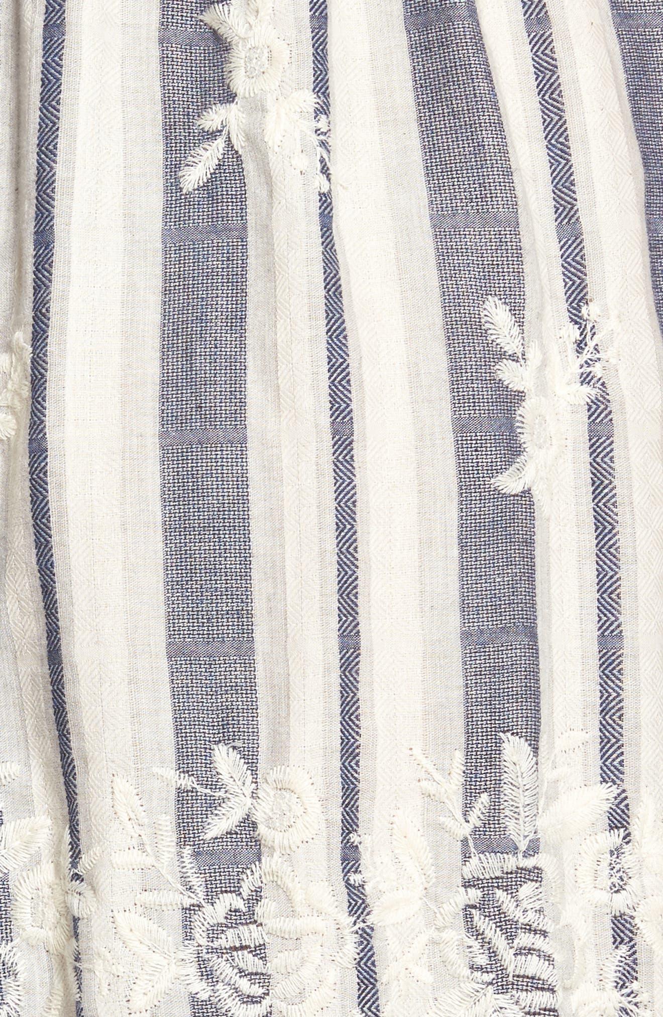 Martina Midi Dress,                             Alternate thumbnail 5, color,                             192