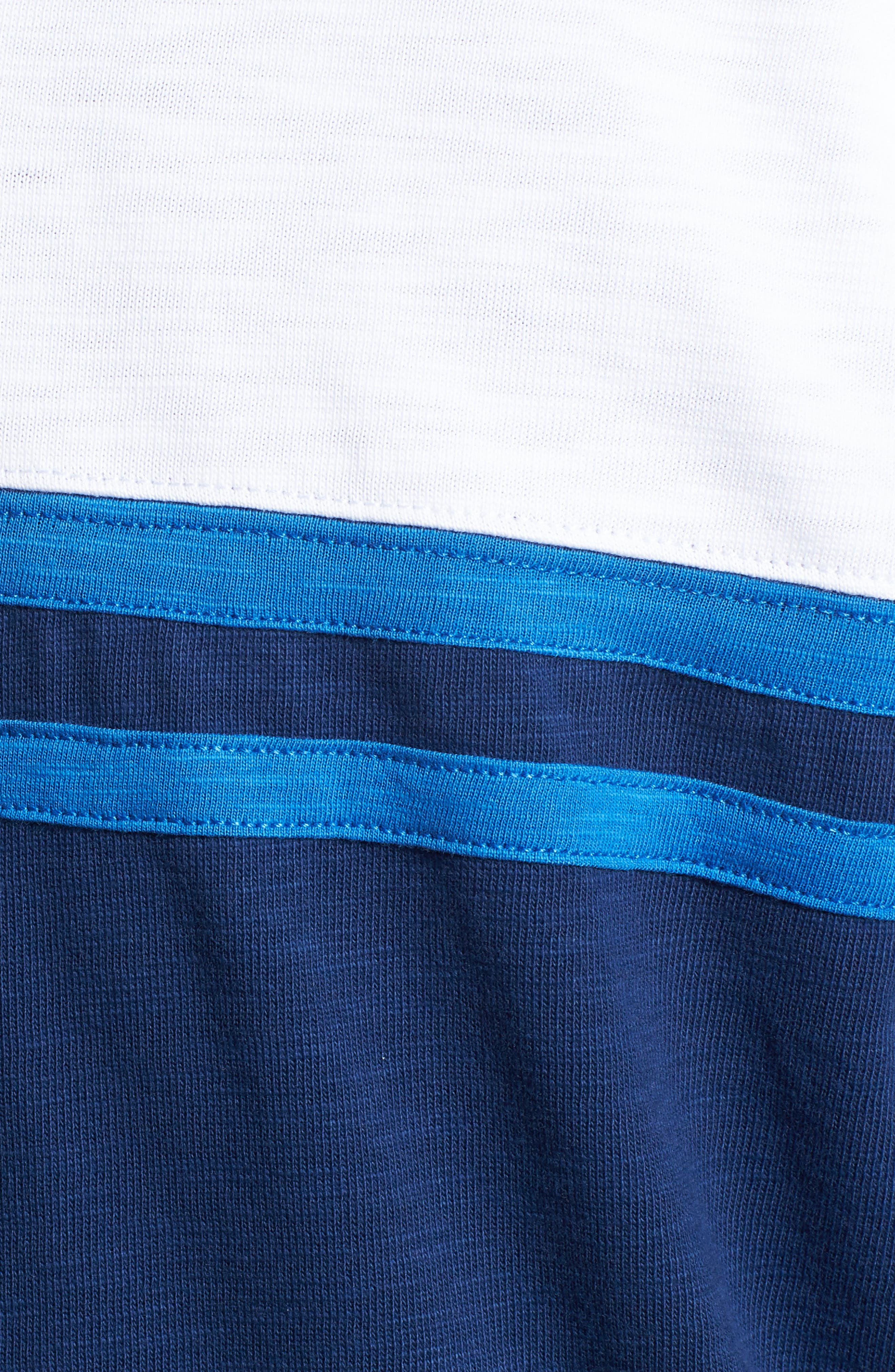 Quarter-Zip Rugby Shirt,                             Alternate thumbnail 5, color,                             401