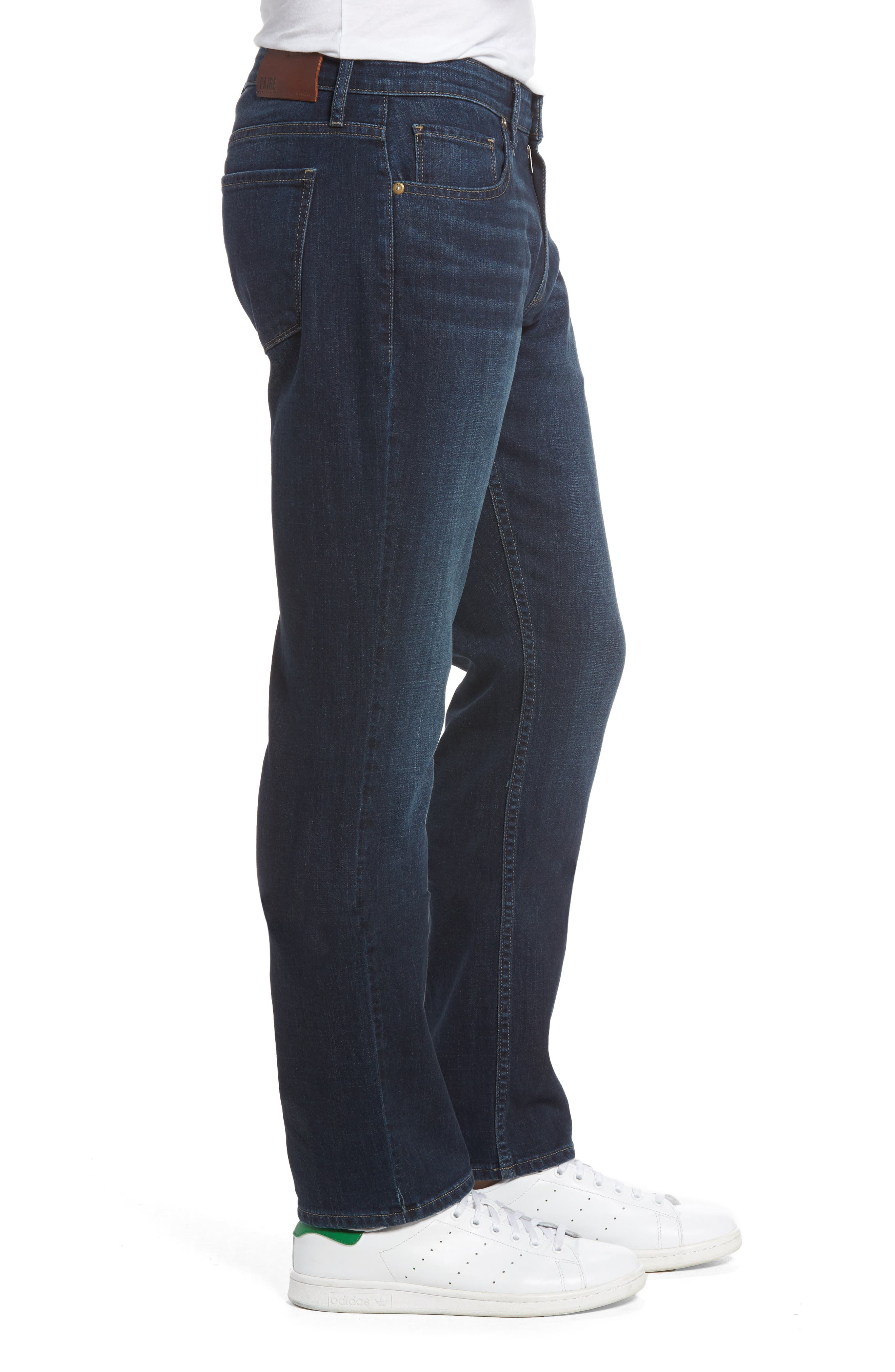 Federal Slim Straight Leg Jeans,                             Alternate thumbnail 3, color,                             400