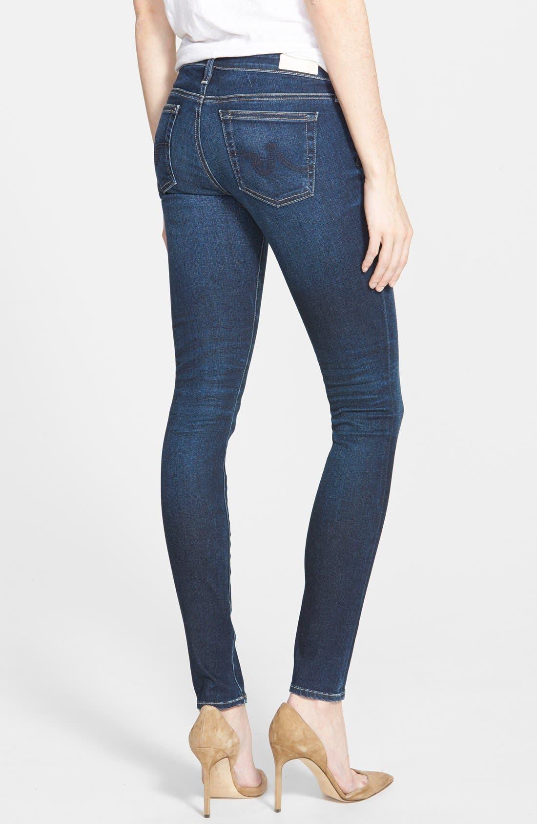 'The Legging' Super Skinny Jeans,                             Alternate thumbnail 30, color,