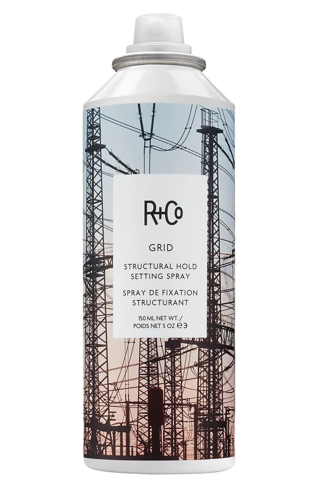 SPACE.NK.apothecary R+Co Grid Structural Hold Setting Spray,                             Main thumbnail 1, color,                             960