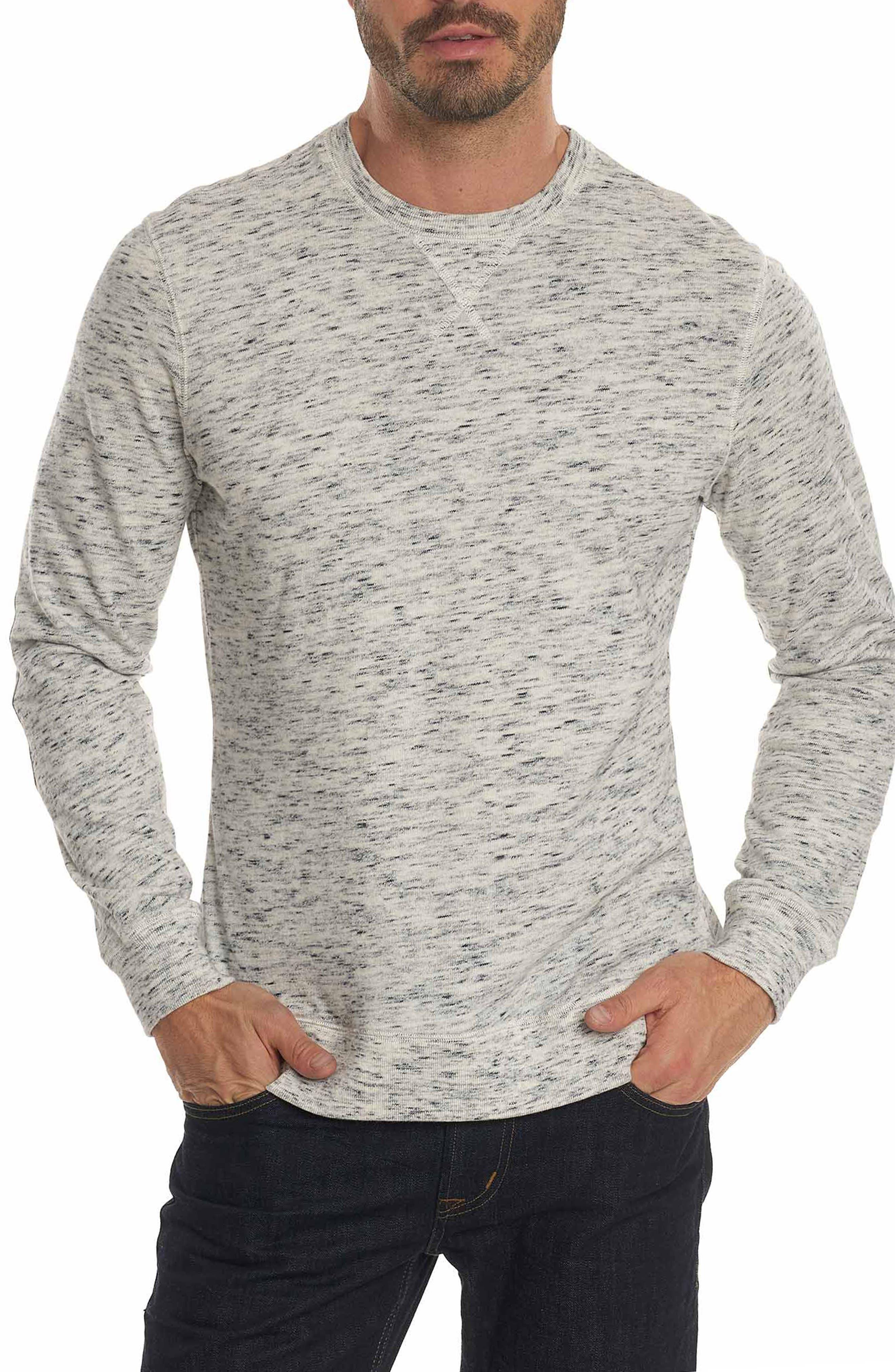 Endurance Elbow Patch Sweatshirt,                             Main thumbnail 1, color,