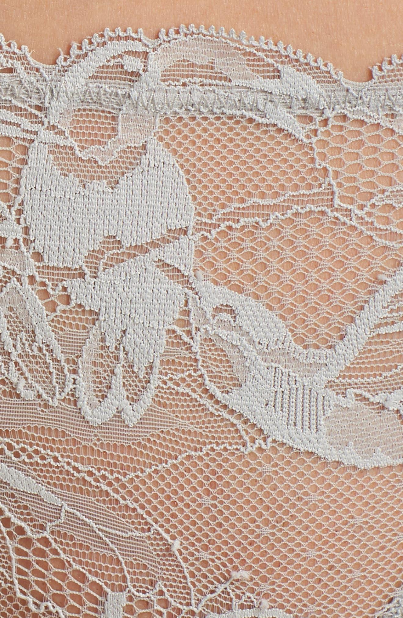 Bird Lace Thong,                             Alternate thumbnail 5, color,                             020