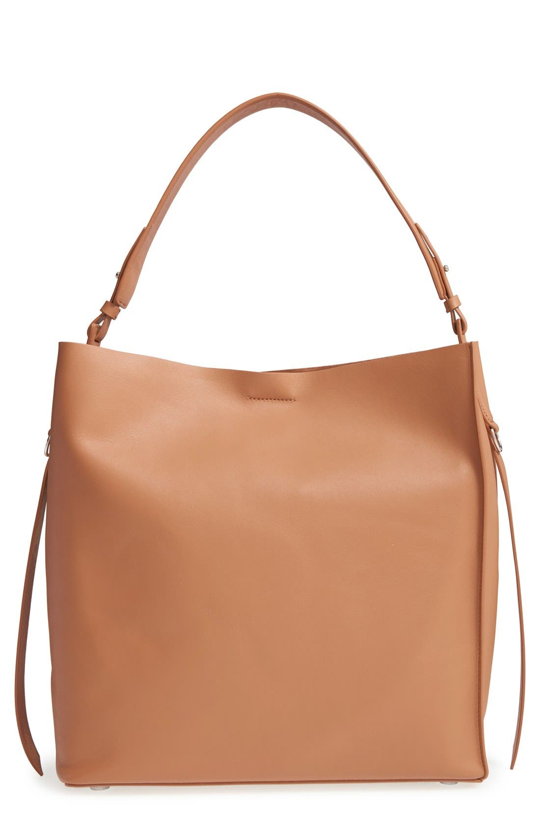'Paradise North/South' Calfskin Leather Tote,                             Main thumbnail 7, color,