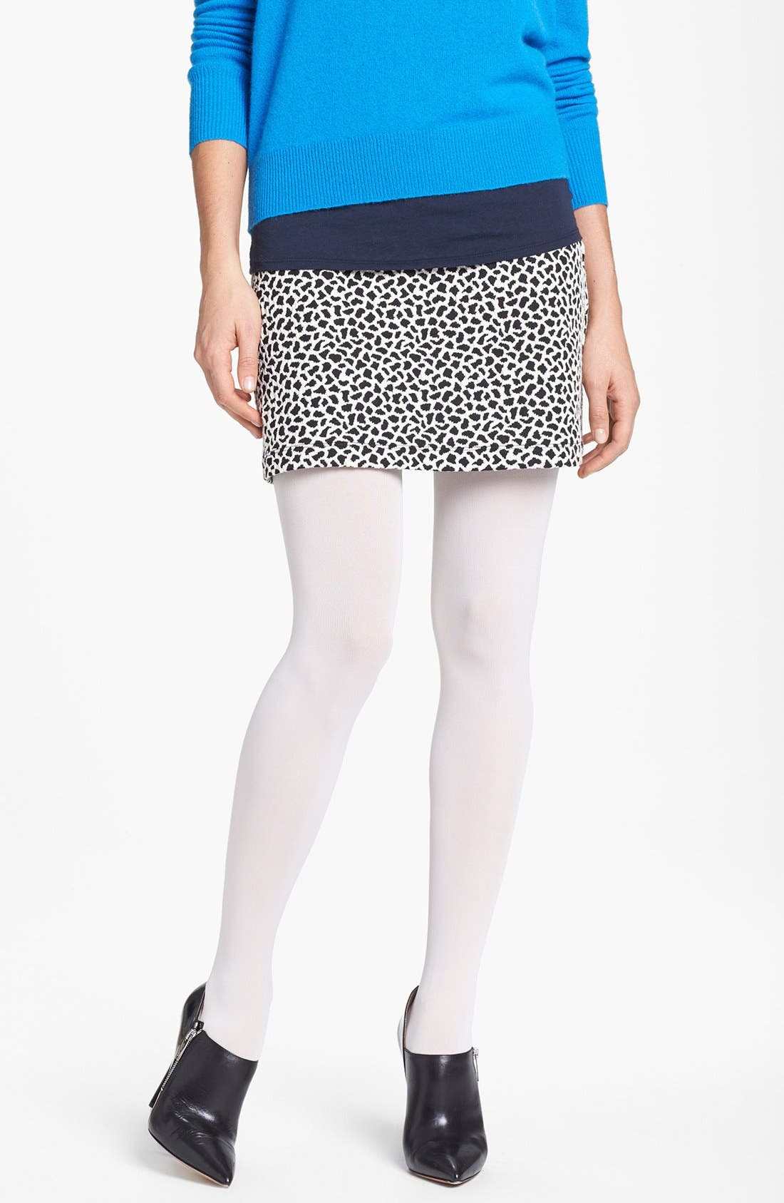 'Everyday' Opaque Tights,                             Main thumbnail 8, color,