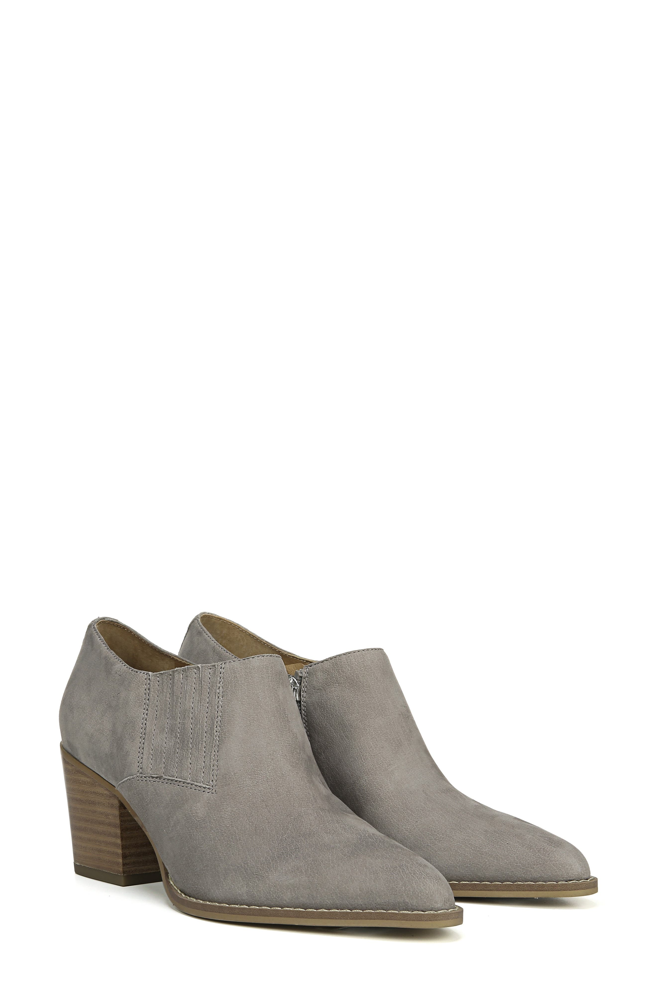 Camella Bootie,                             Alternate thumbnail 8, color,                             GREYSTONE NUBUCK LEATHER